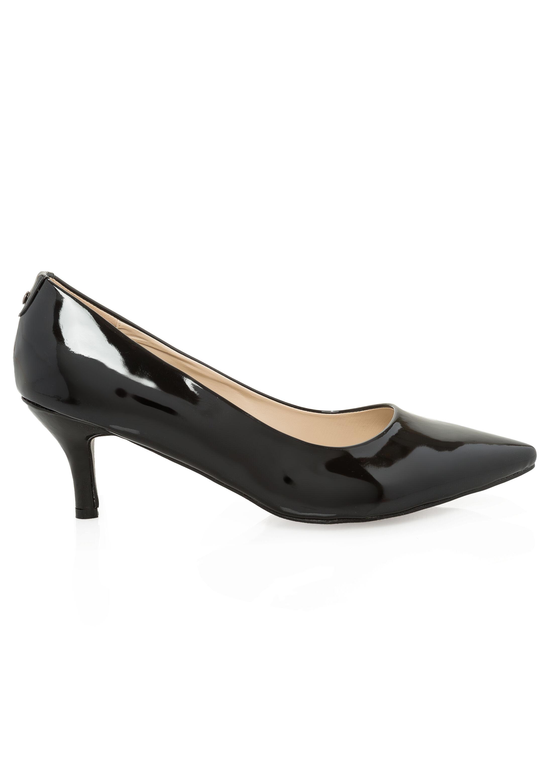 Kitten Heel Shoes Wide Width