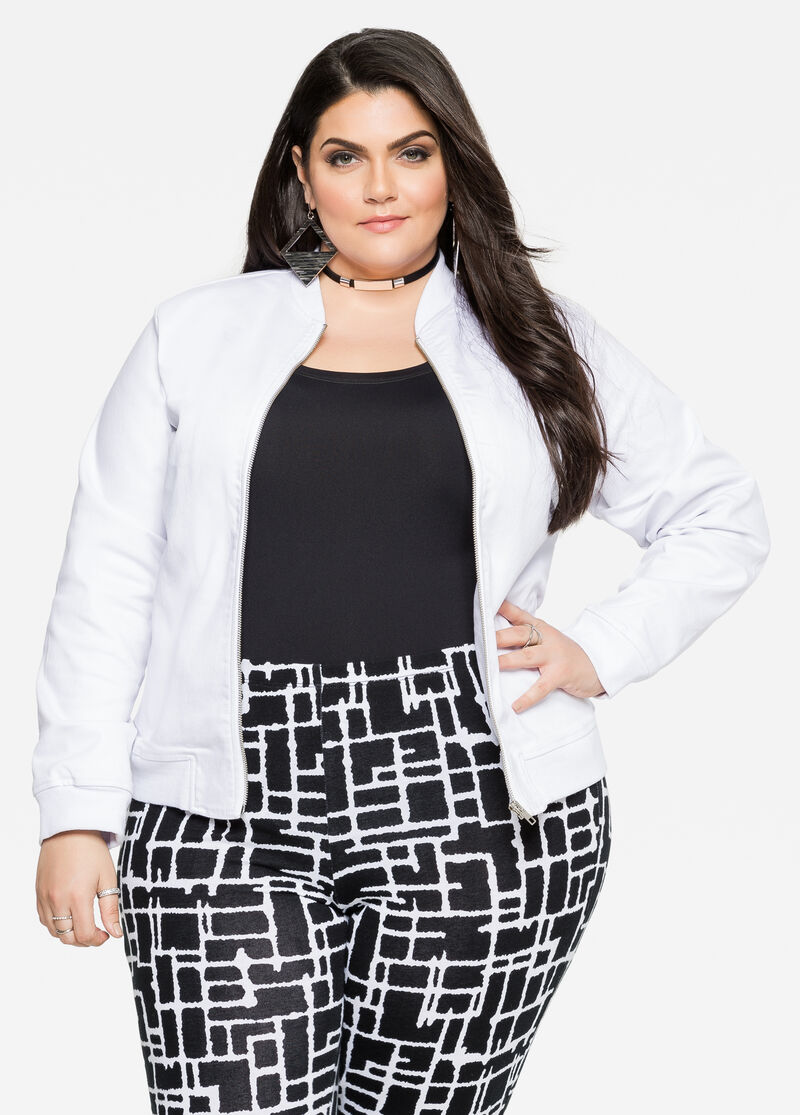 Buy Womens Denim Jacket Plus Size - Ashley Stewart