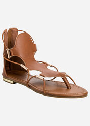 Strappy Sandals - Wide Width