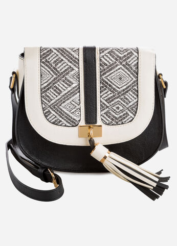 Aztec Tassel Saddle Bag