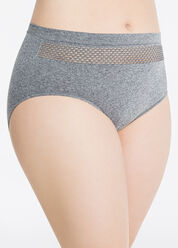 Seamless Brief with Open Mesh