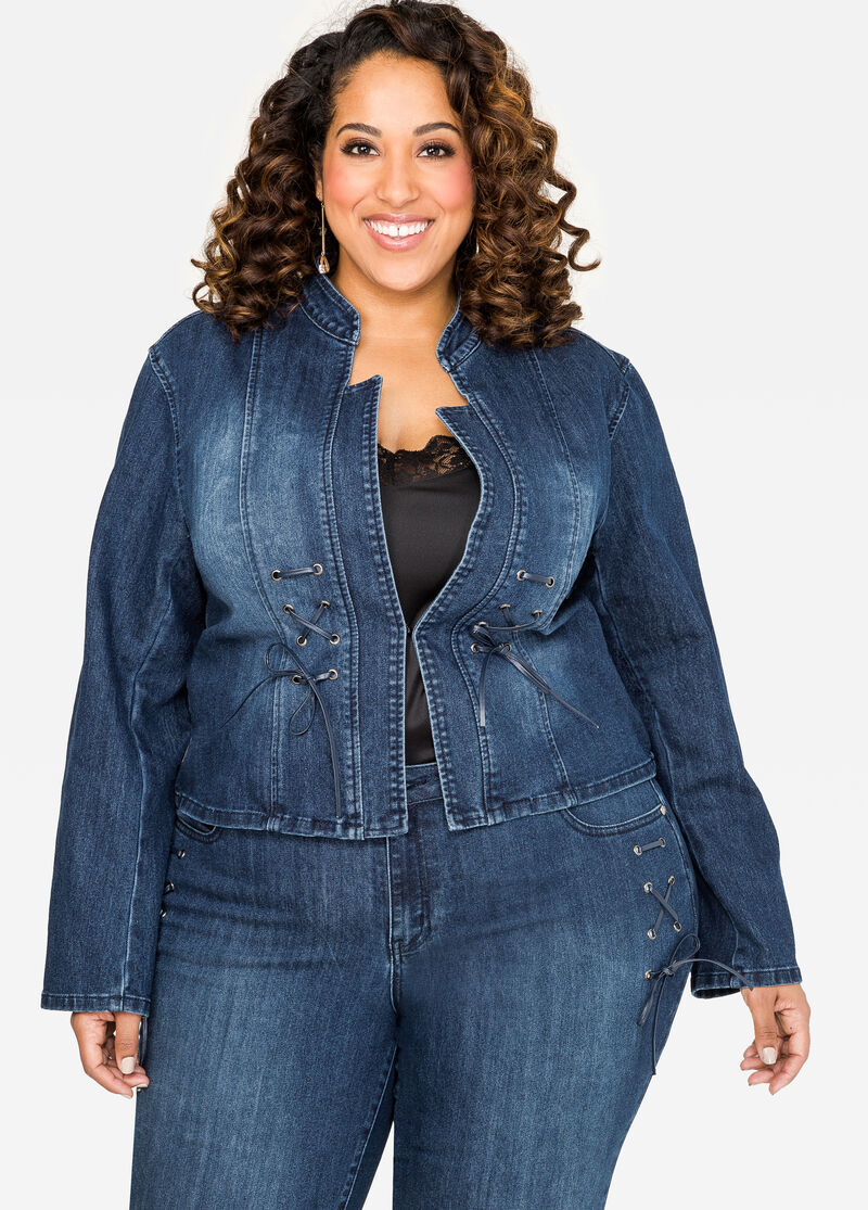 Buy Plus Size Blue Jean Jackets - Ashley Stewart