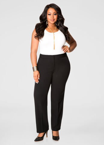 Plus Size Dress Black Pants 71