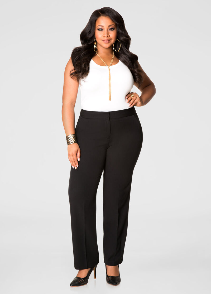 Buy Womens Capri Pants Plus Size - Ashley Stewart