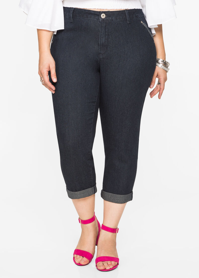 Buy Plus Size Jeans without Pockets - Ashley Stewart