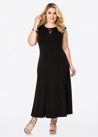buy clearance plus size maxi dresses - ashley stewart