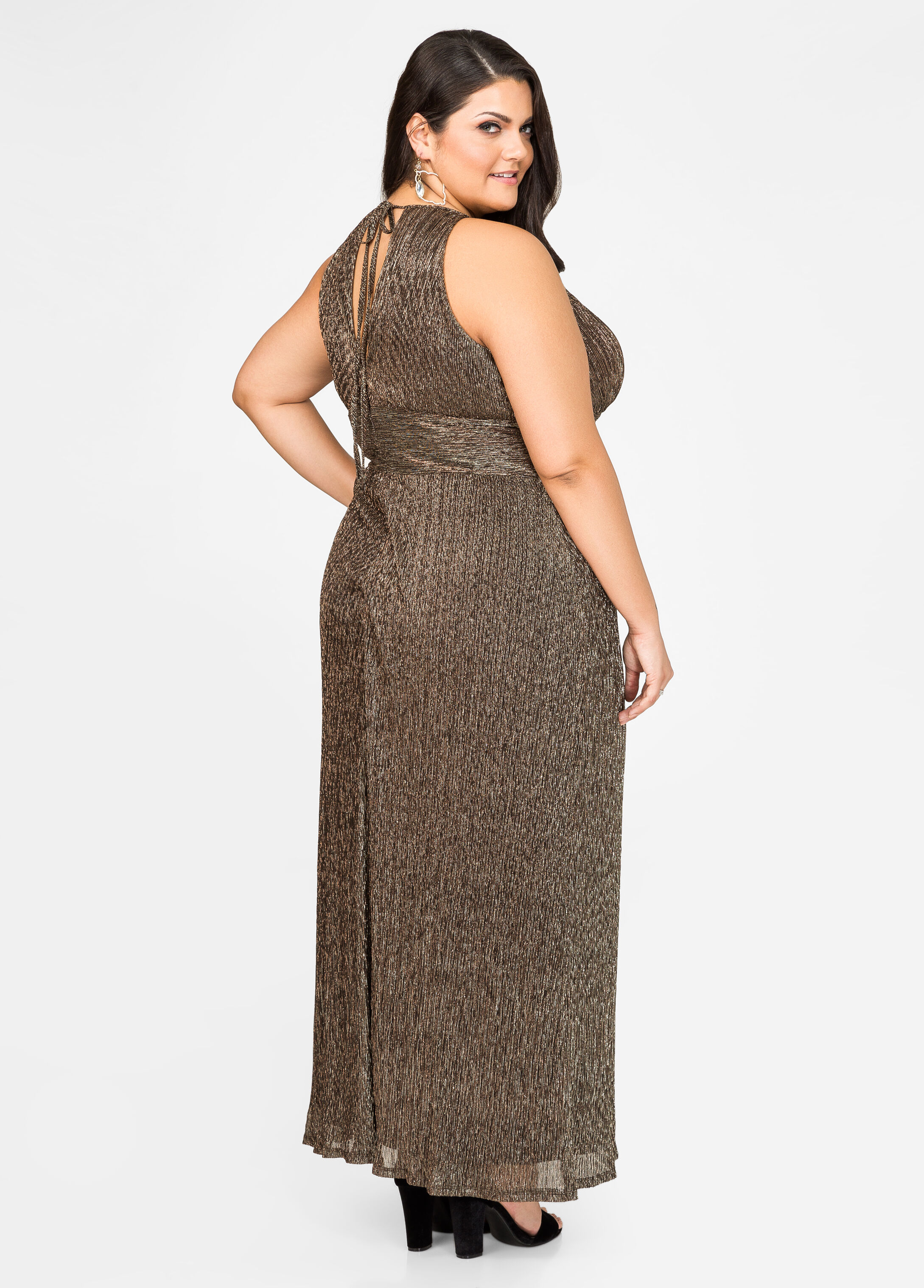 Metallic Special Occasion Gown