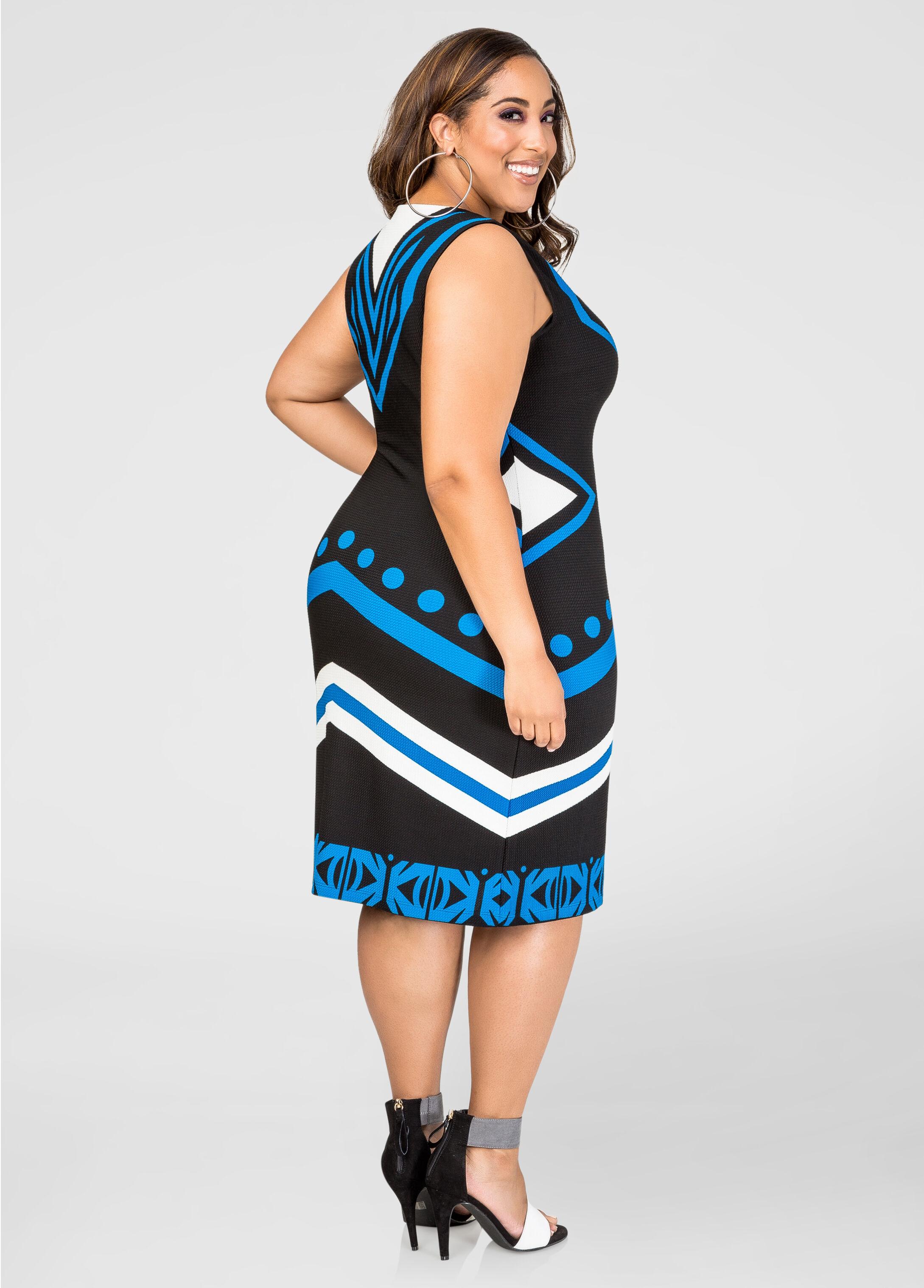 Textured Tribal Dress