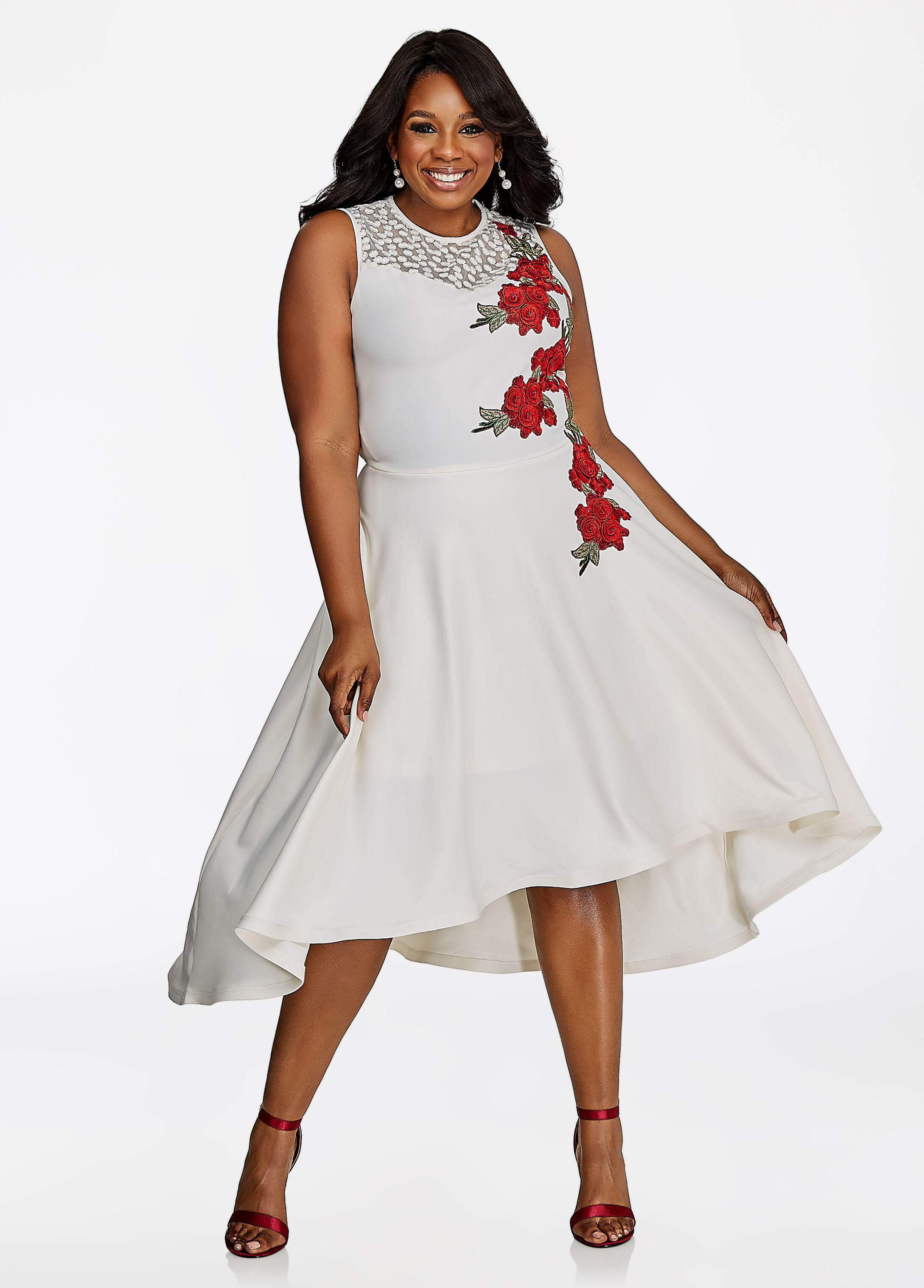 clearance: plus-size dresses on sale | ashley stewart