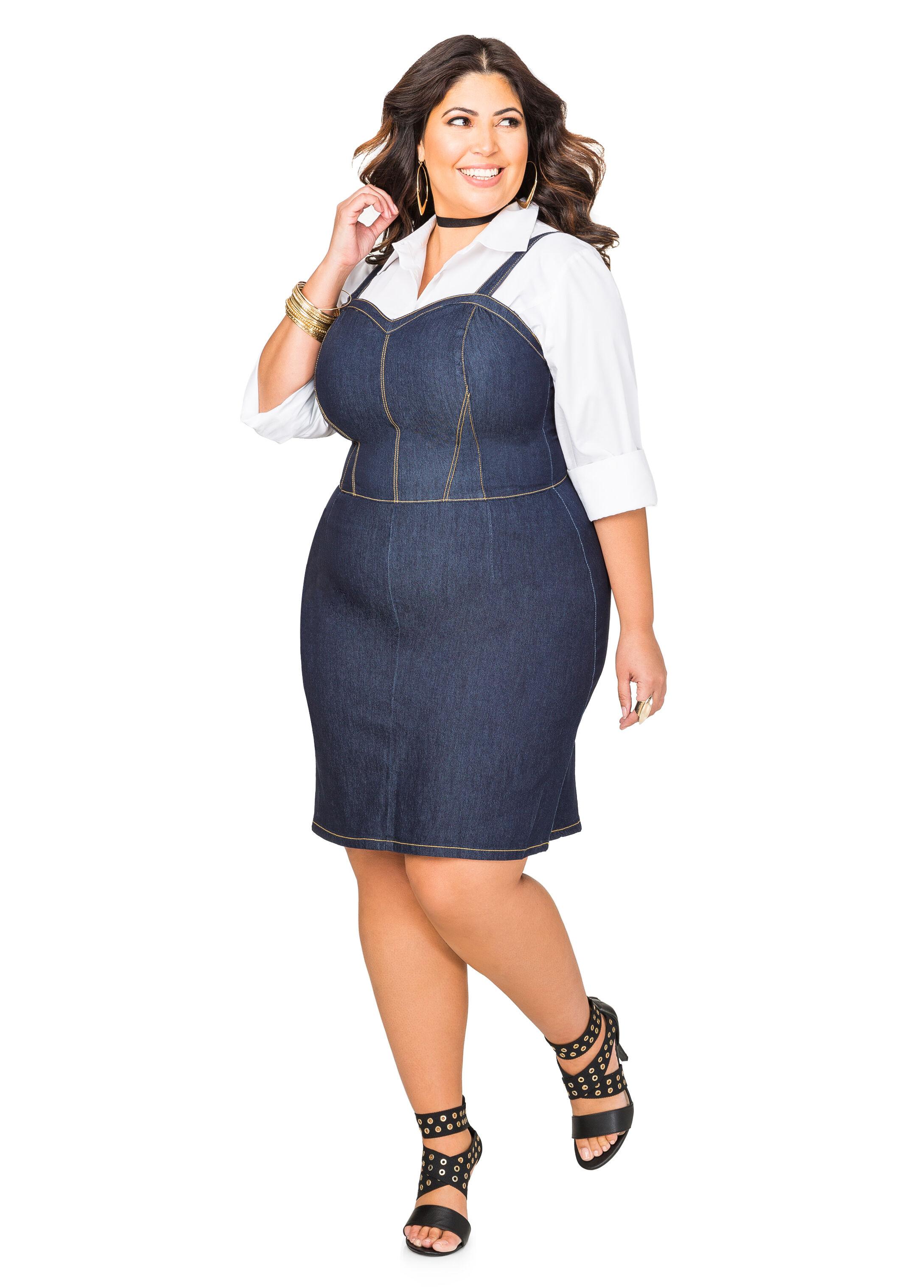 Sweetheart Jean Dress