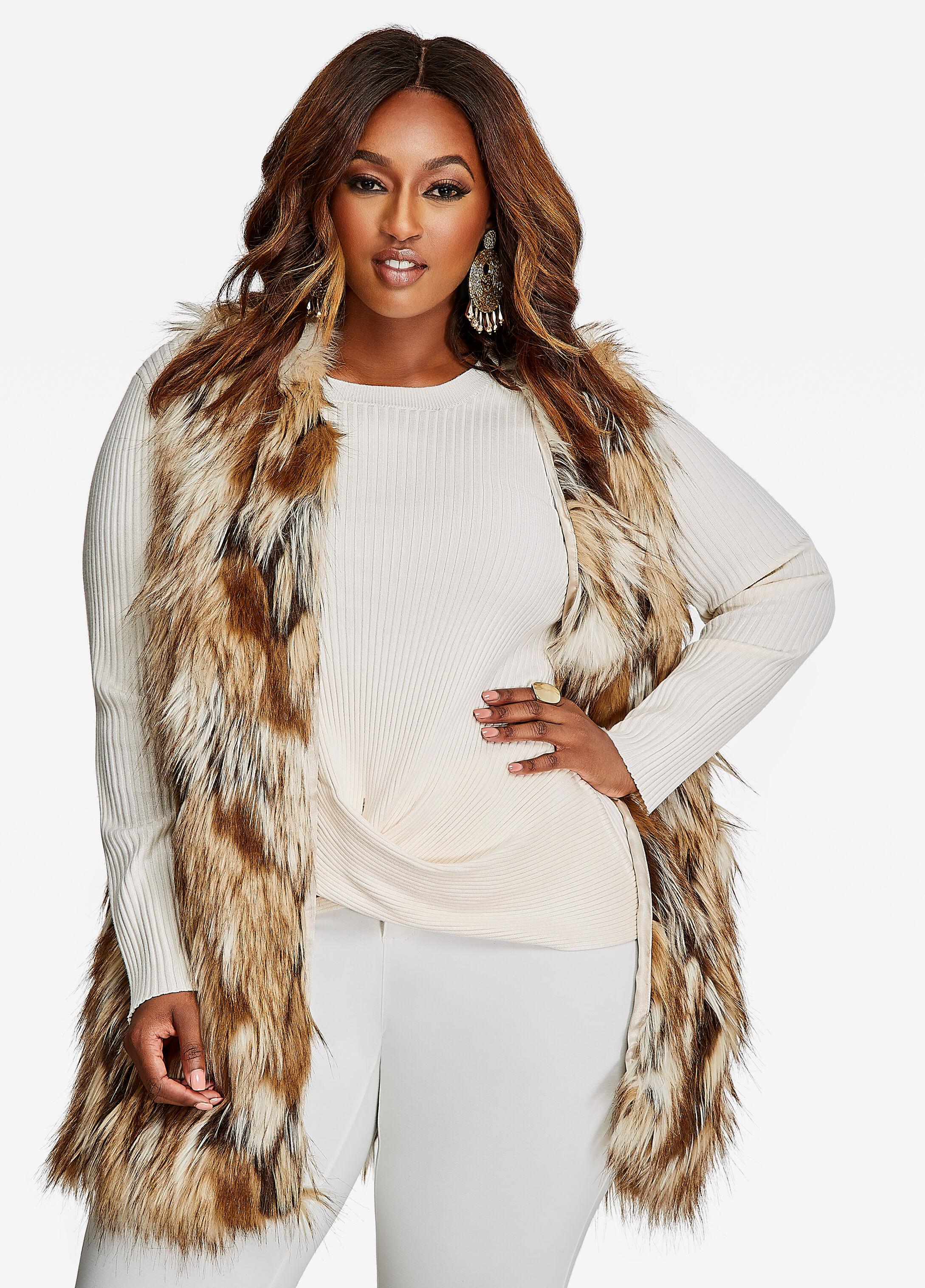 Long Fur Vest