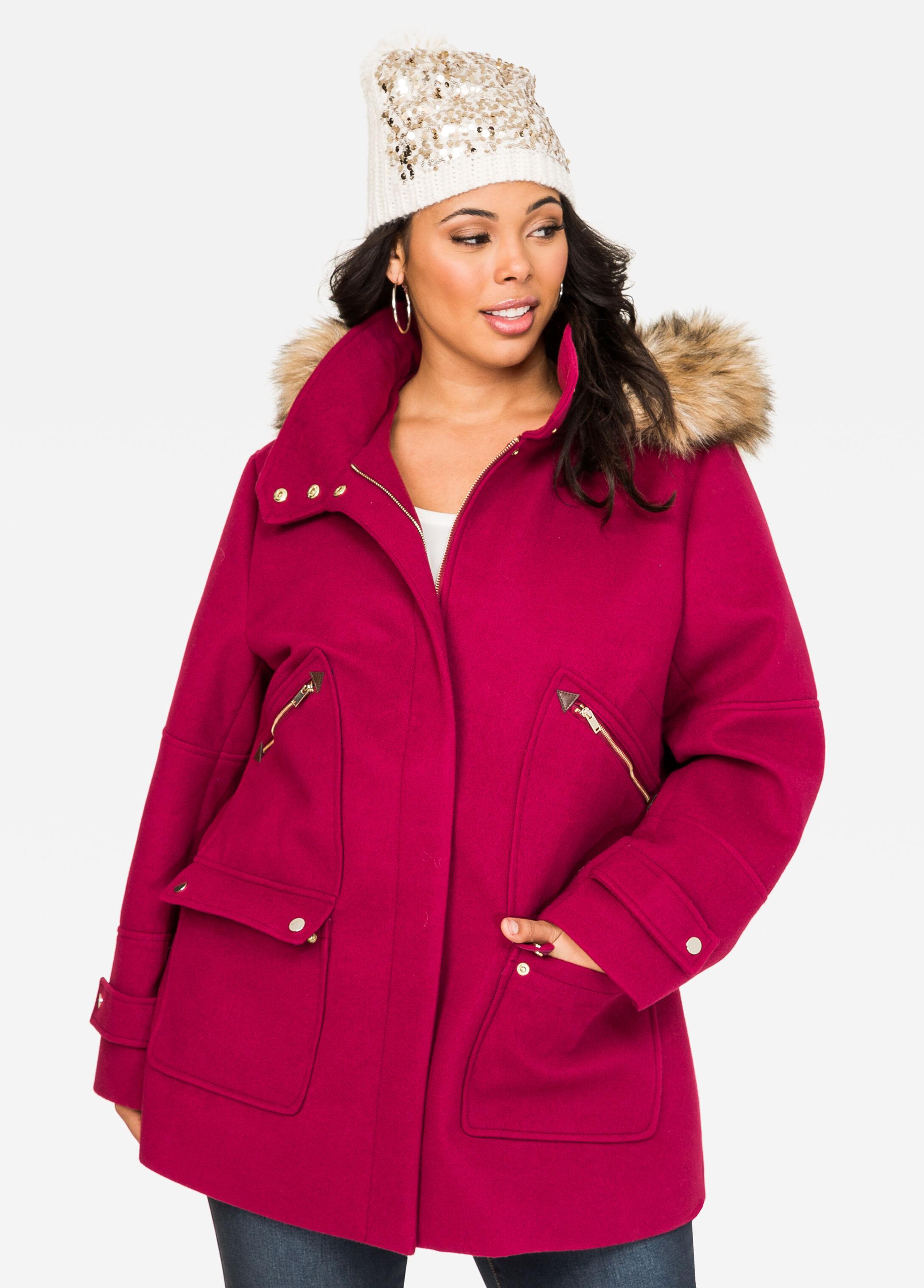 Hooded Duffle Winter Coat
