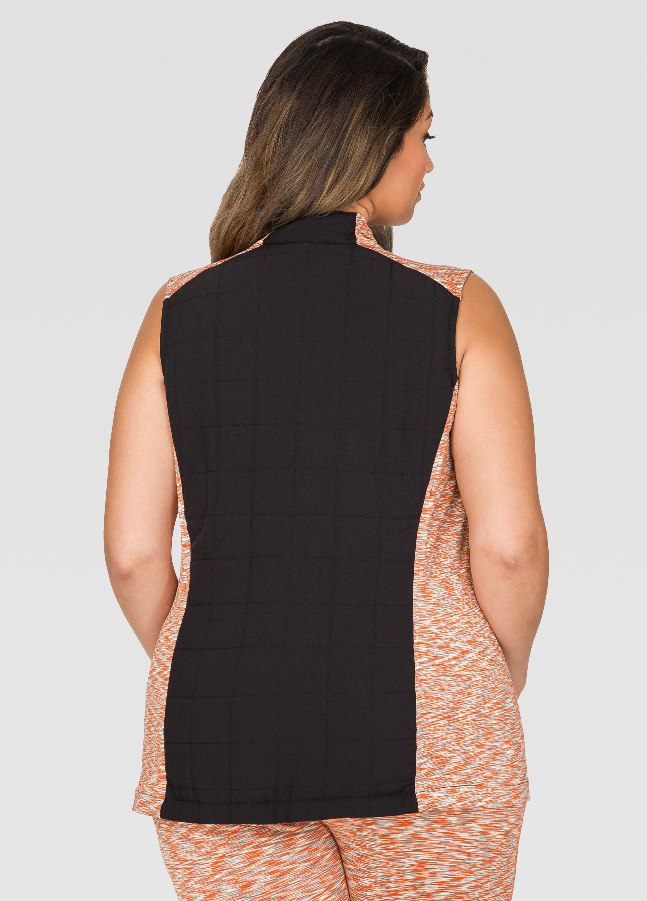 Quilted Space Dye Active Vest