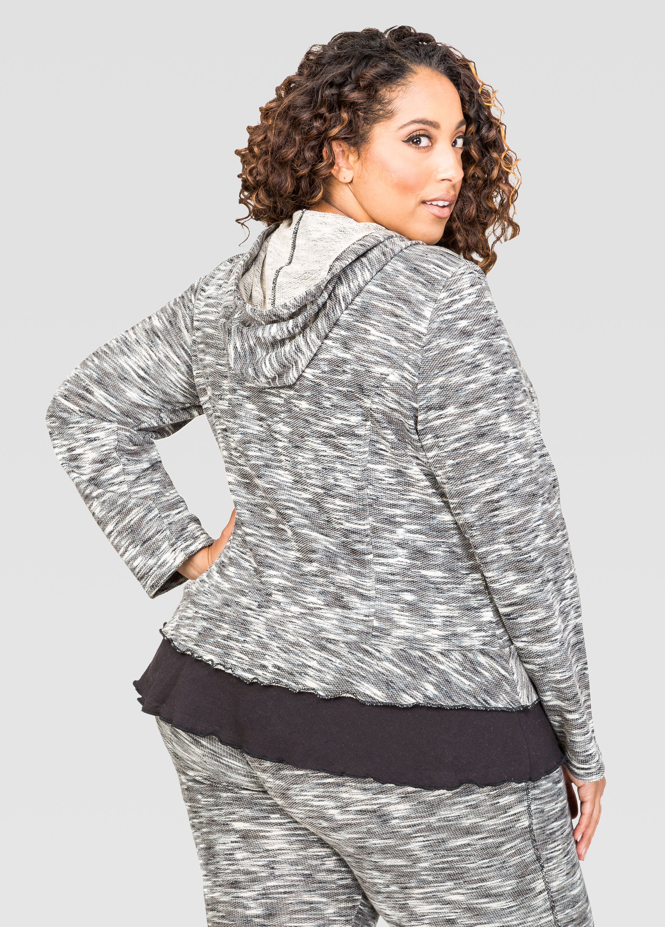 Mélange French Terry Active Jacket
