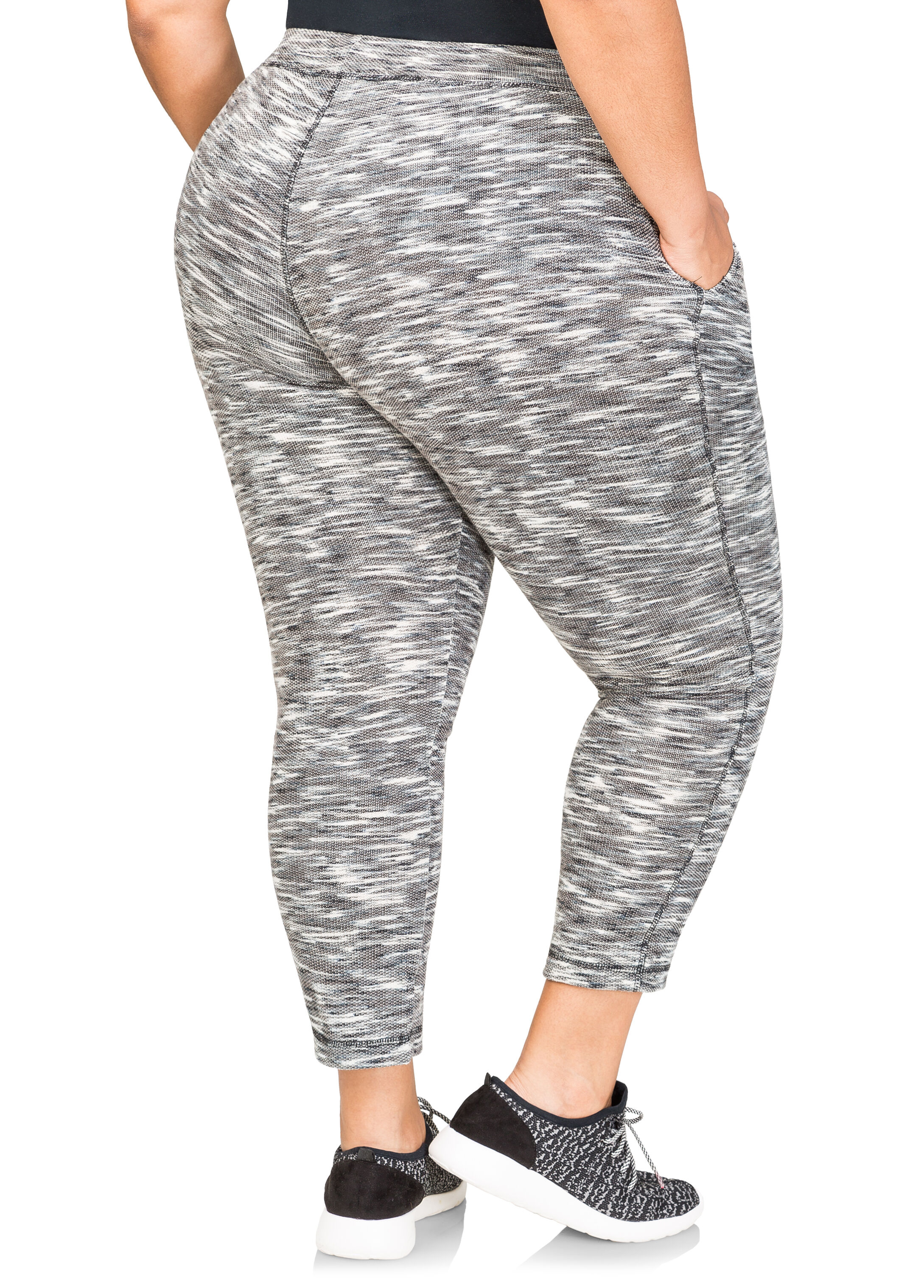 Mélange French Terry Active Pants