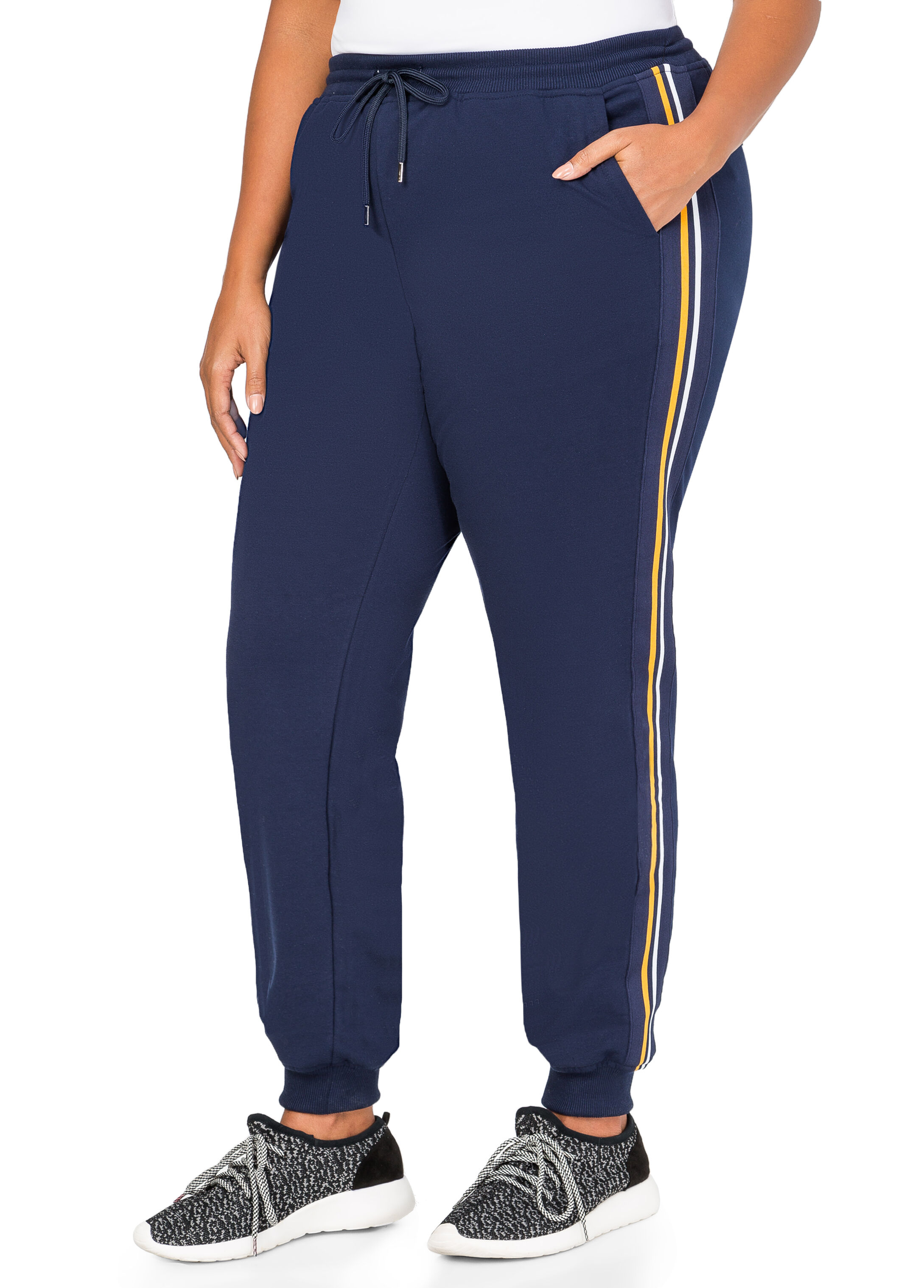 Athletic Stripe Sweat Pants