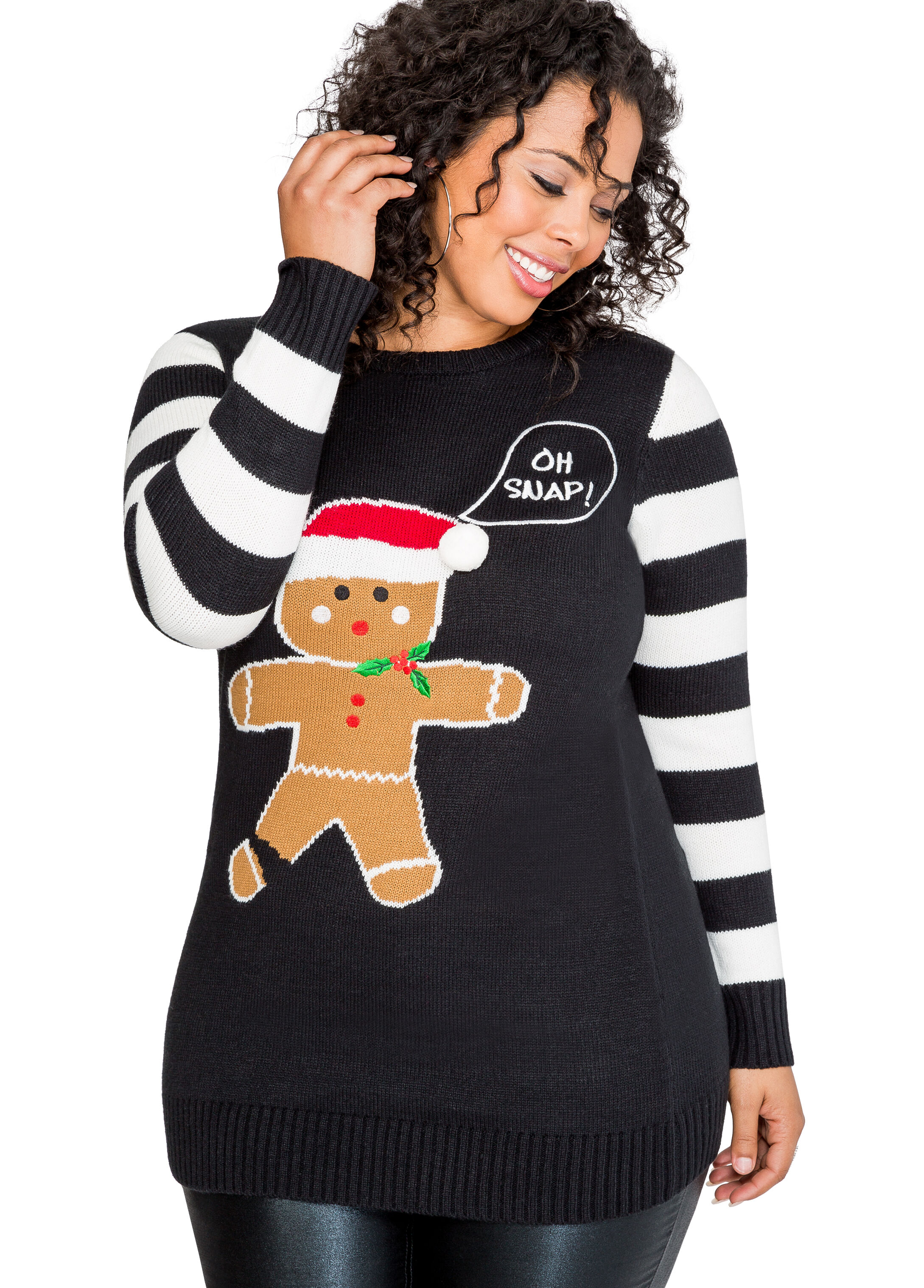 Oh Snap! Holiday Sweater