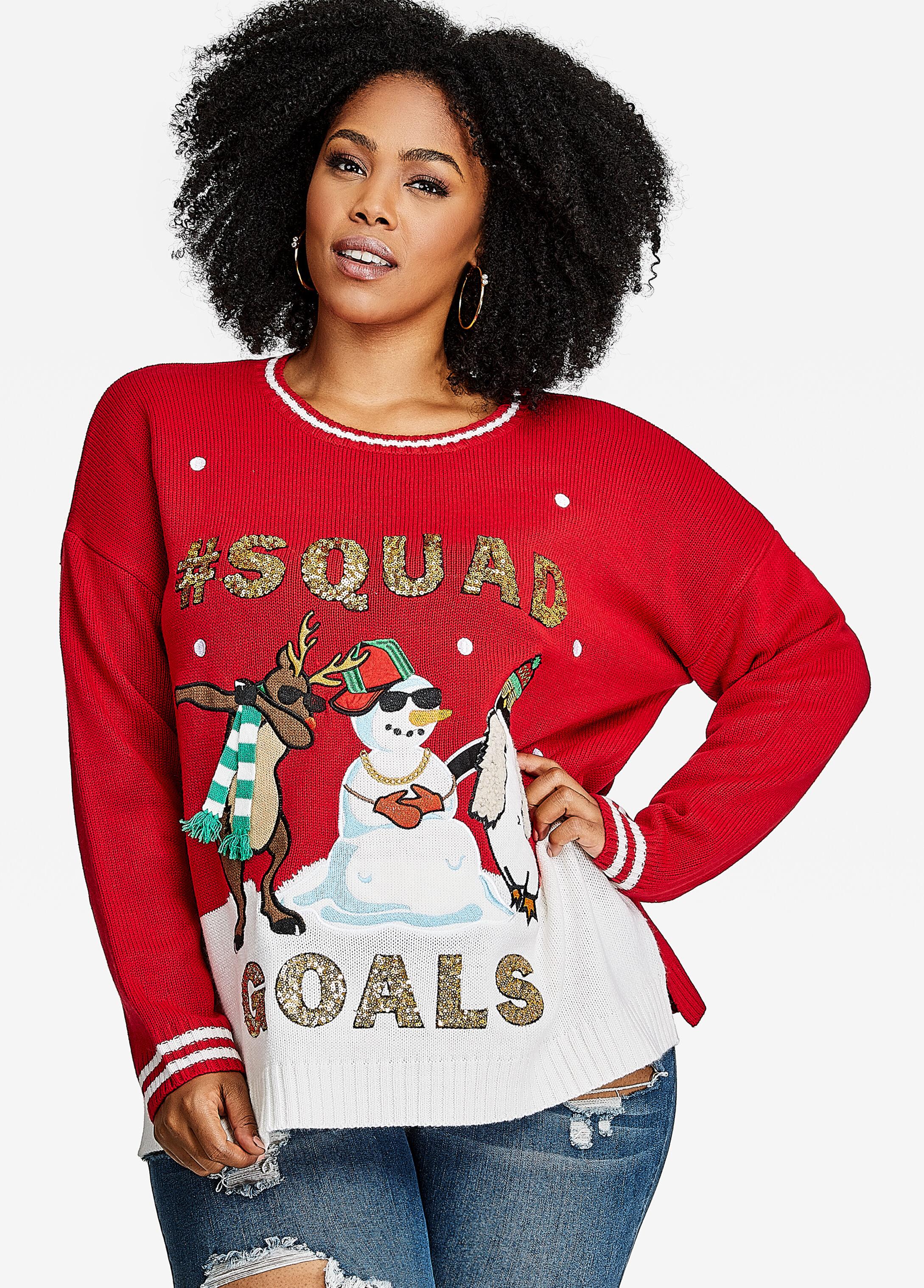 #Squad Goals Sweater