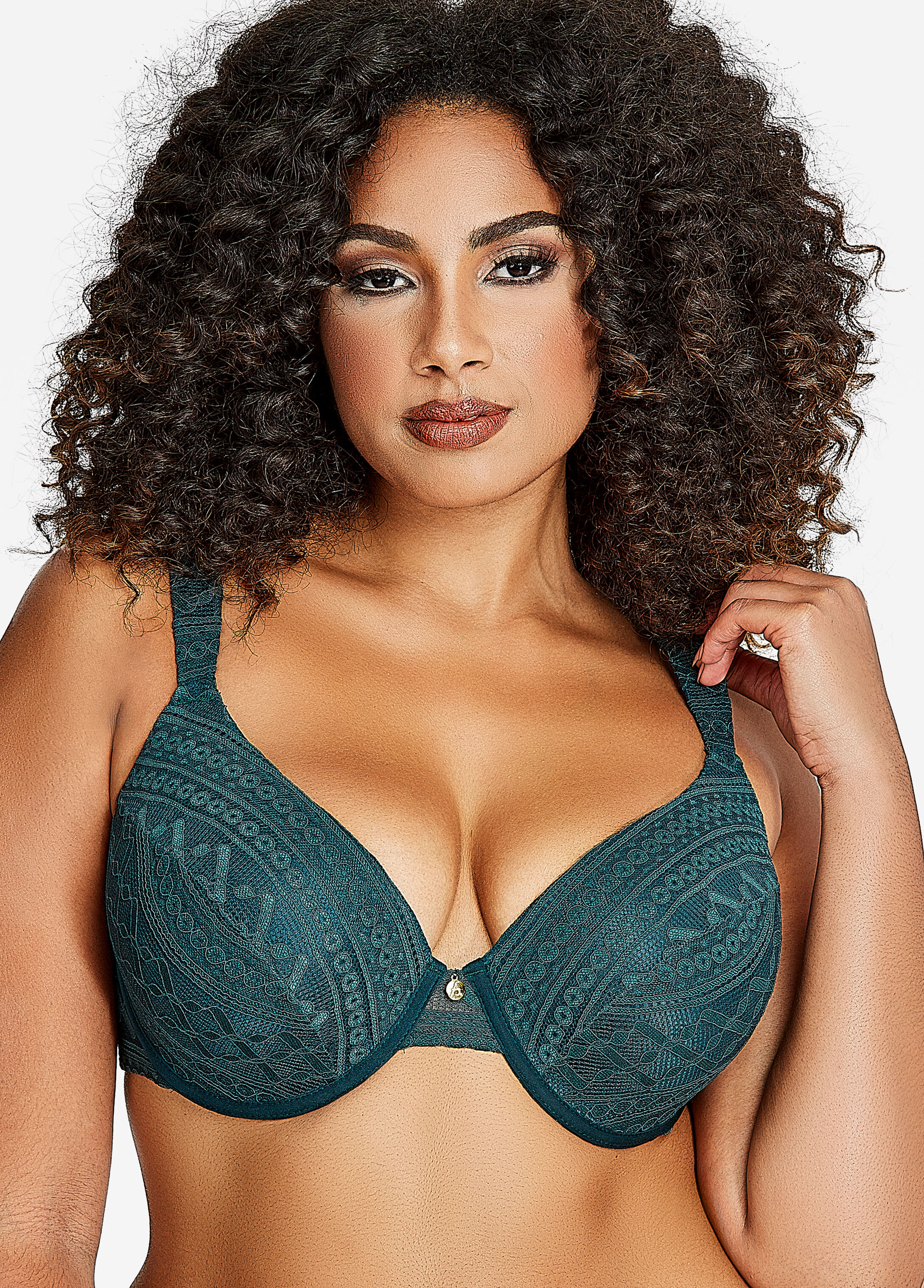 Tribal Lace T-Shirt Bra