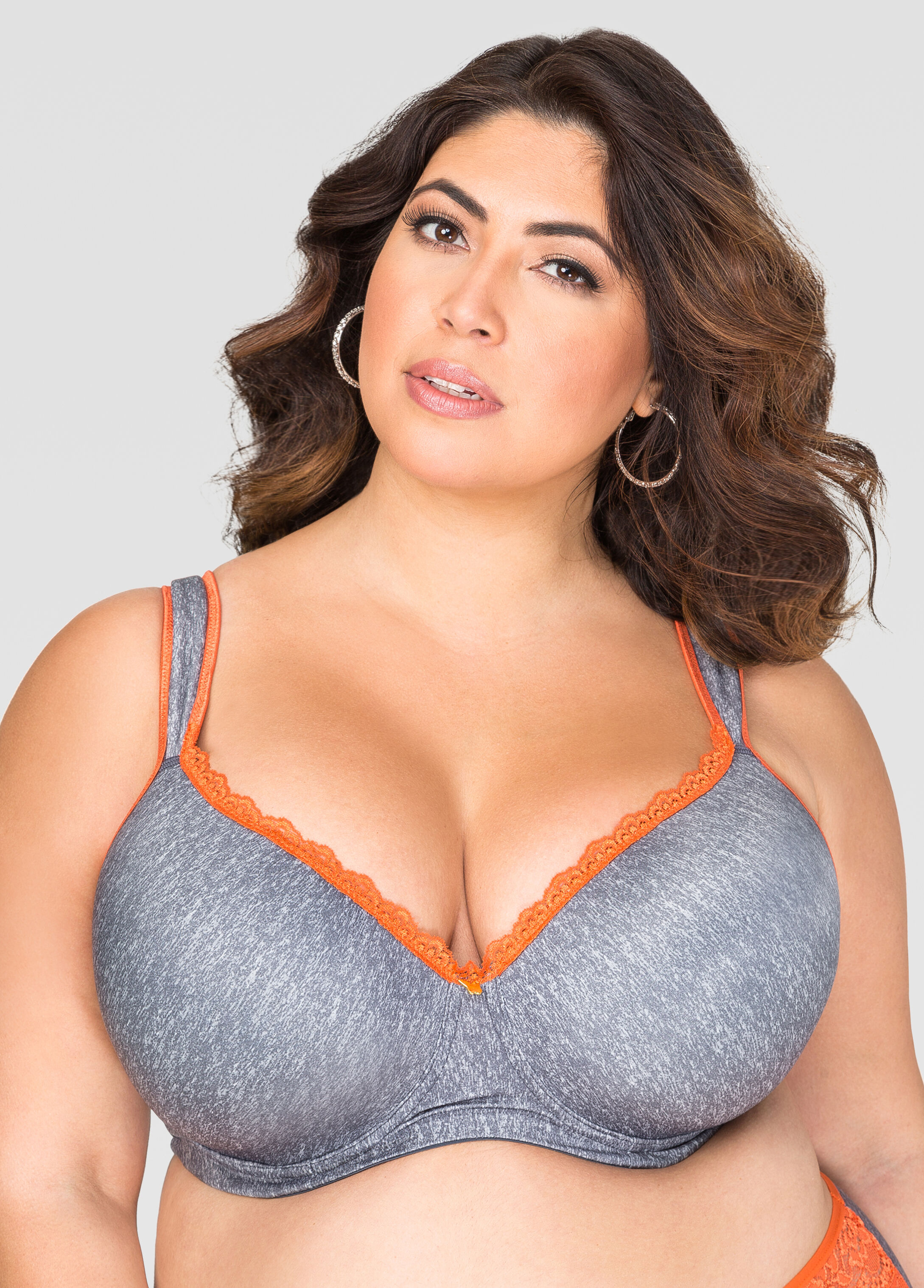 Full Coverage Butterfly Bra - F,G Cups