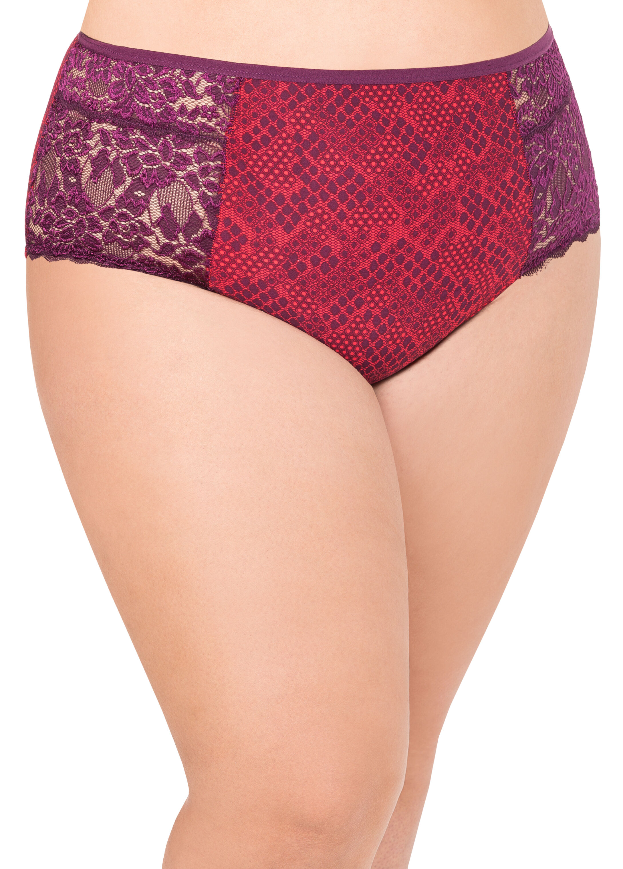 Printed Tummy Control Butterfly Panty