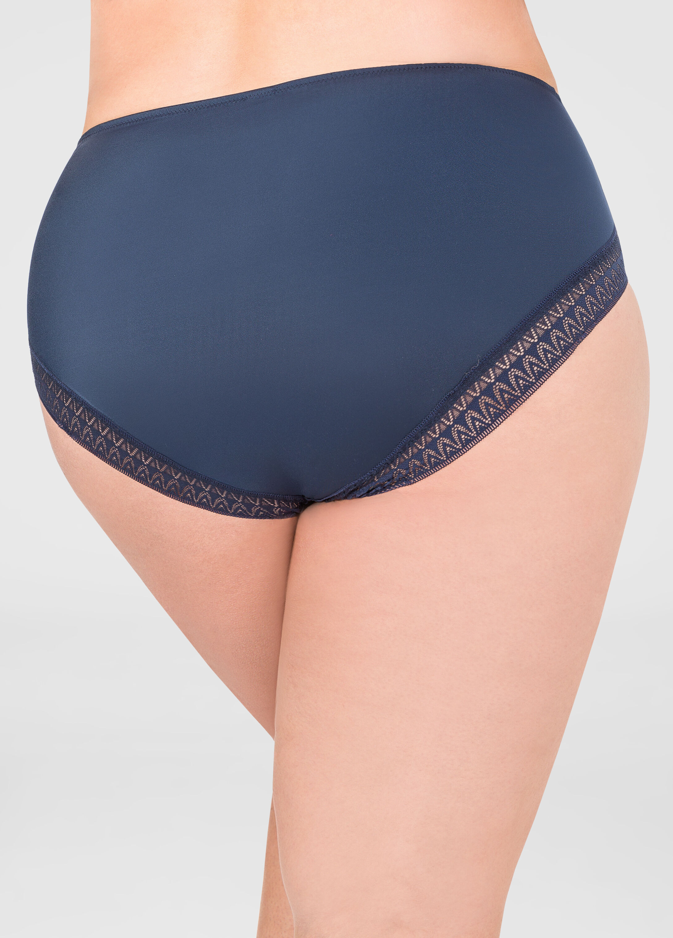 Contrast Tummy Control Butterfly Panty