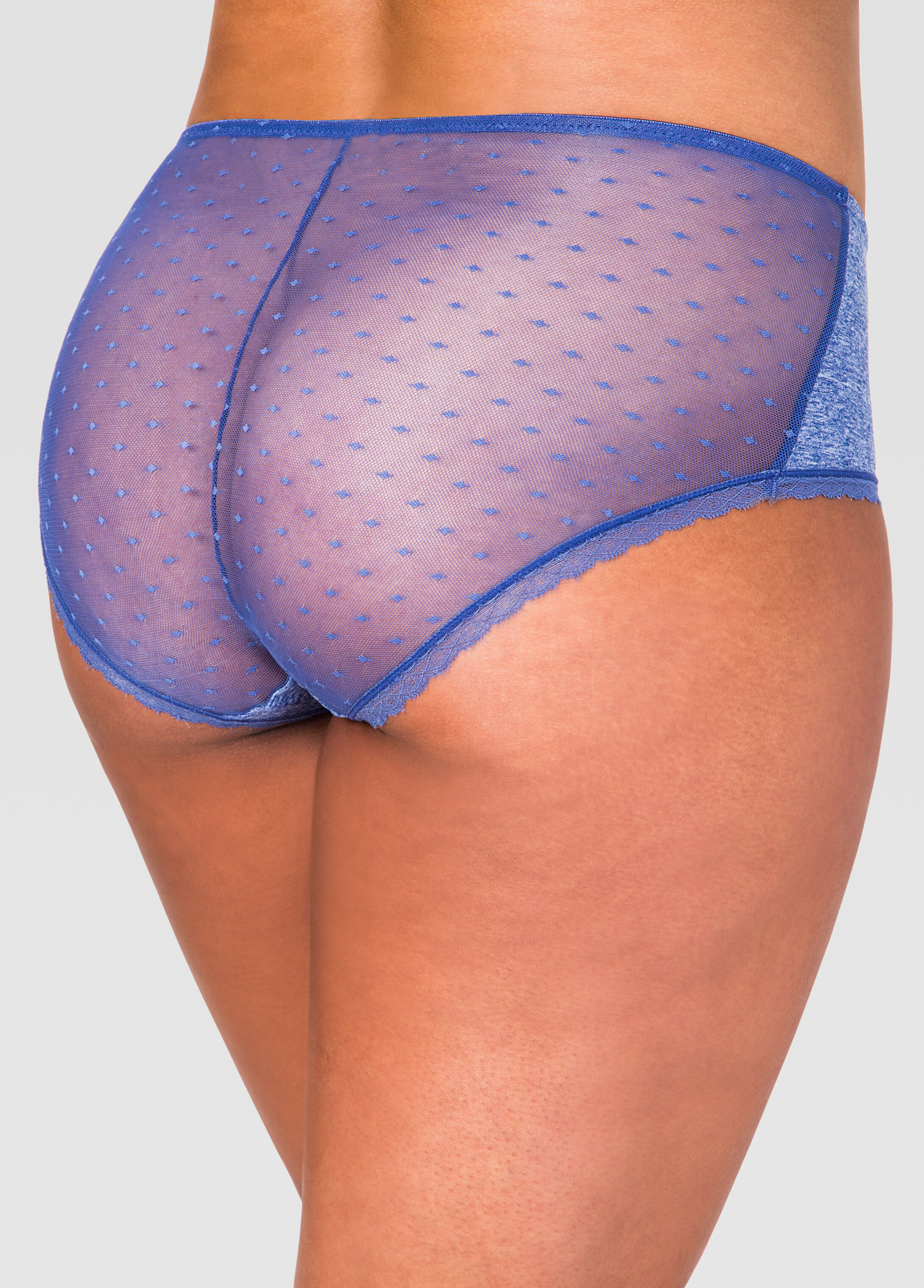 Lace Back Micro Hipster Panty