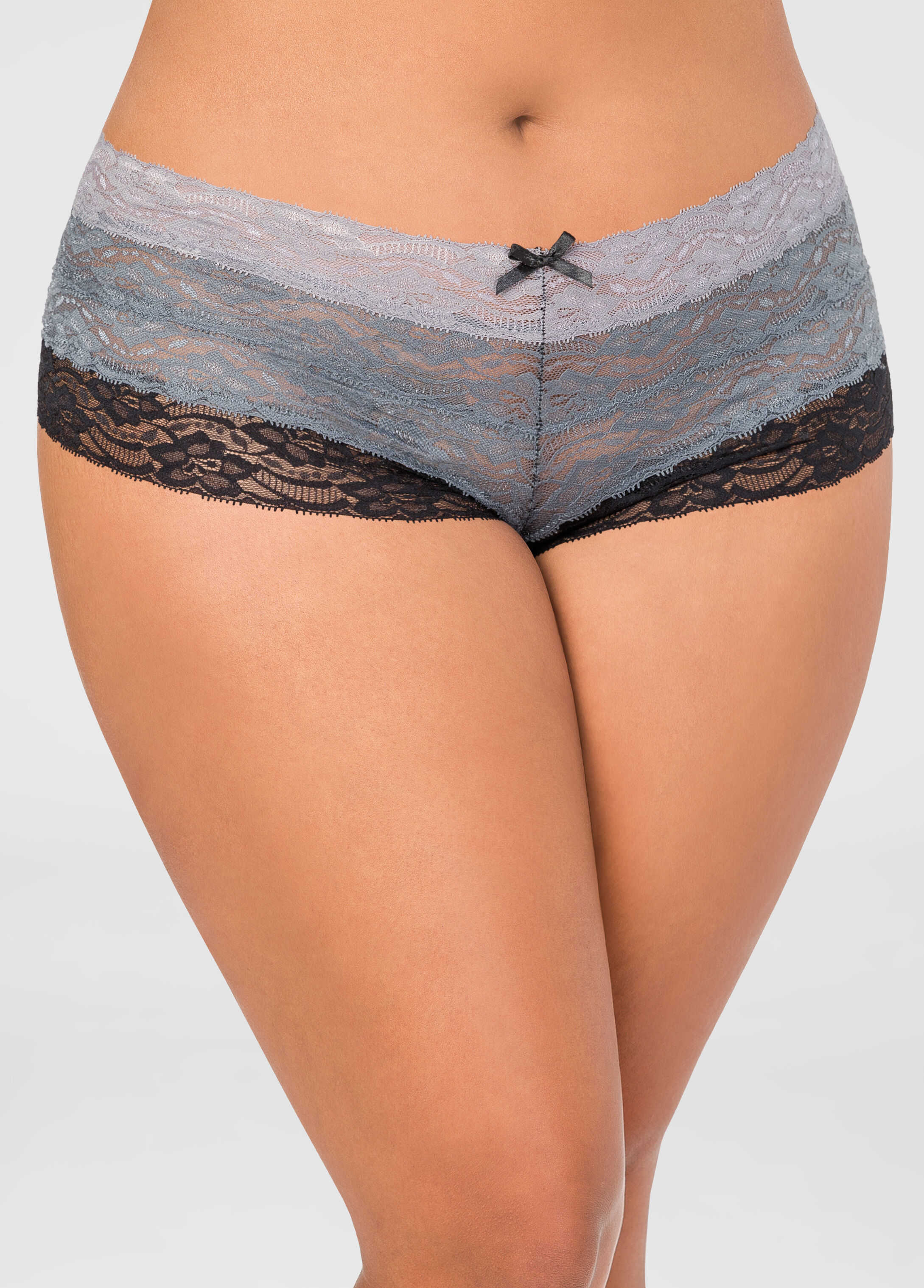 Ombre Stripe Hipster Panty