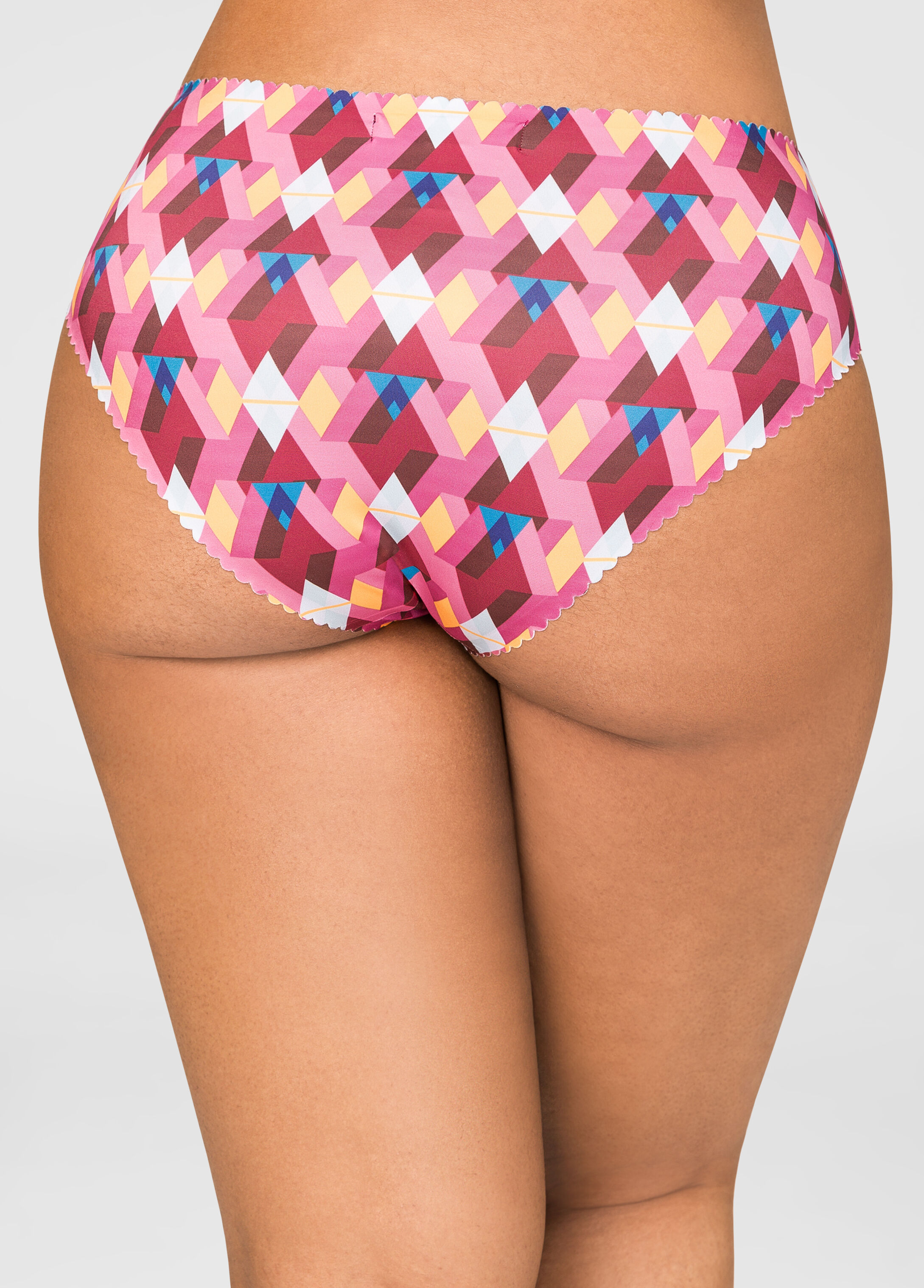 Scalloped Laser Cut Hipster Panty