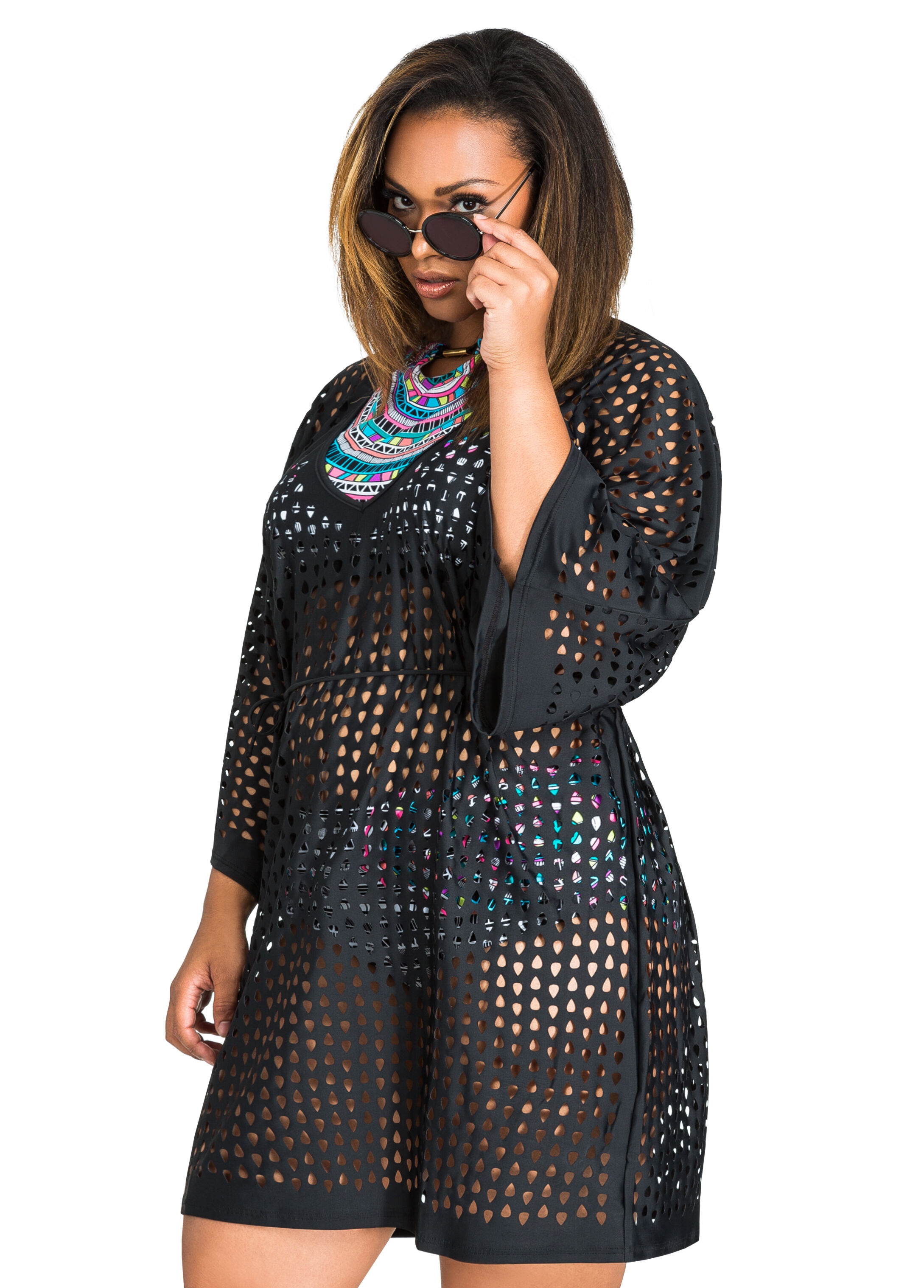 Open Weave Swim Cover Up