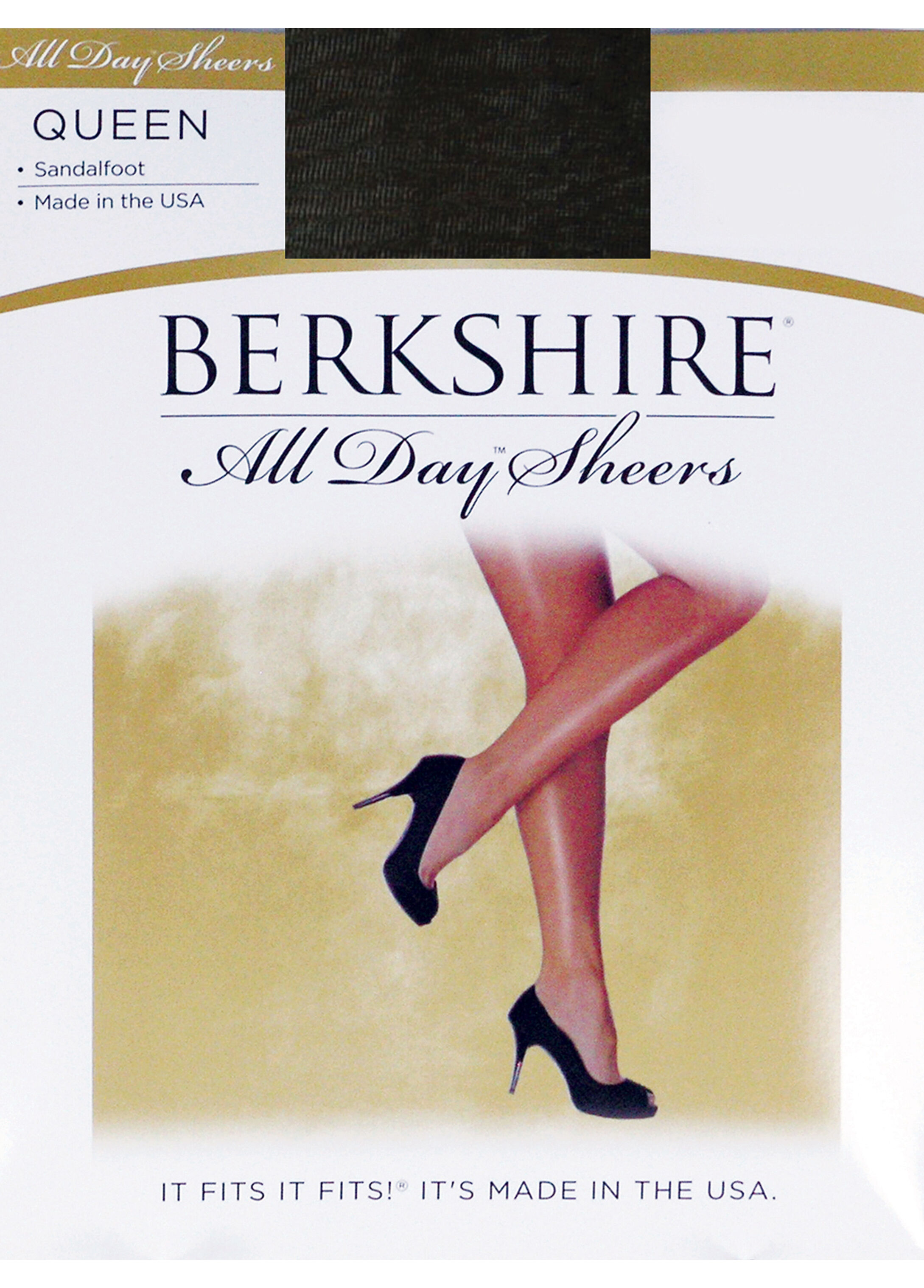 Berkshire All Day Sheer Sandalfoot Pantyhose
