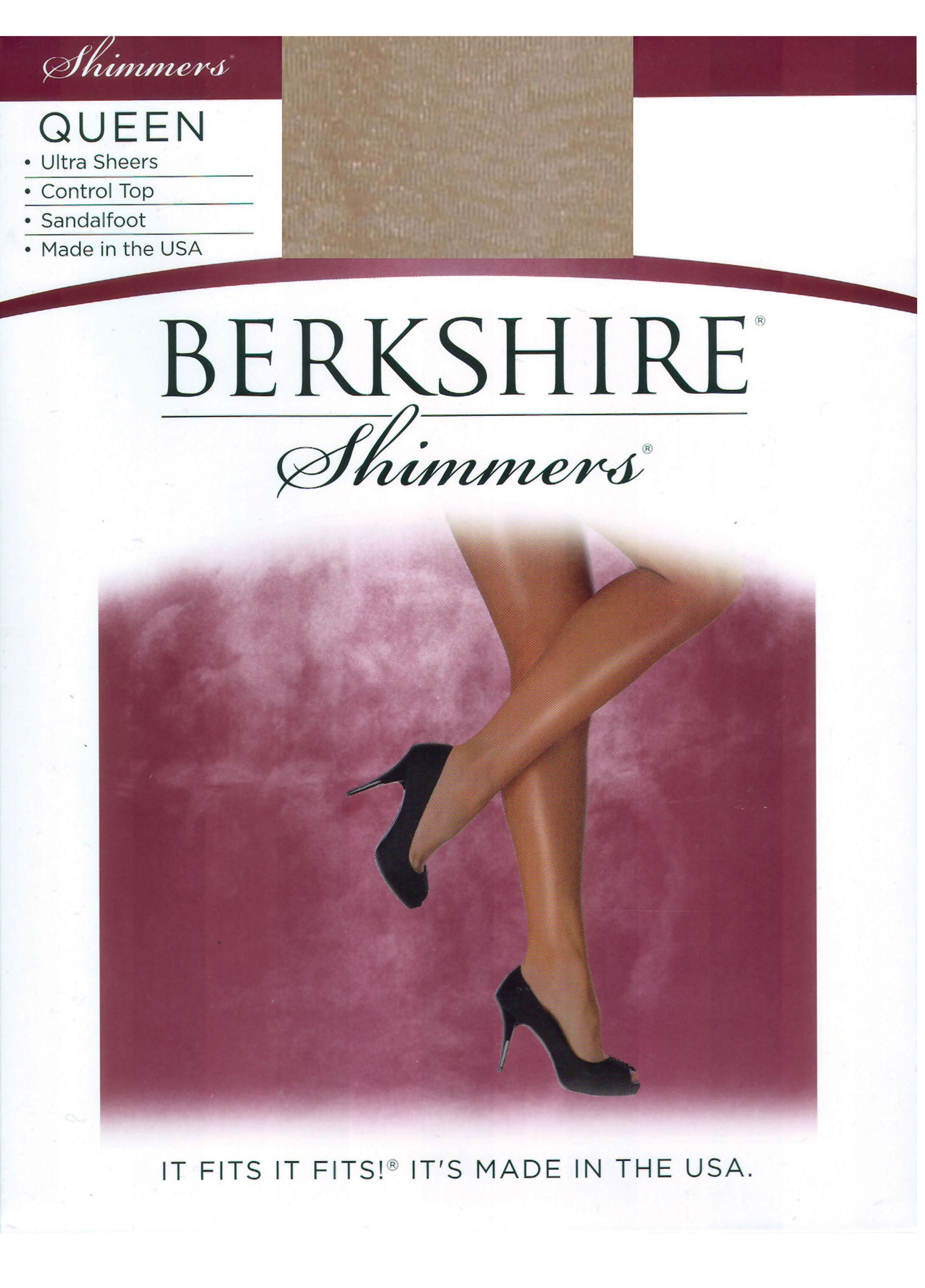 Berkshire Control Top Ultra Sheer Pantyhose