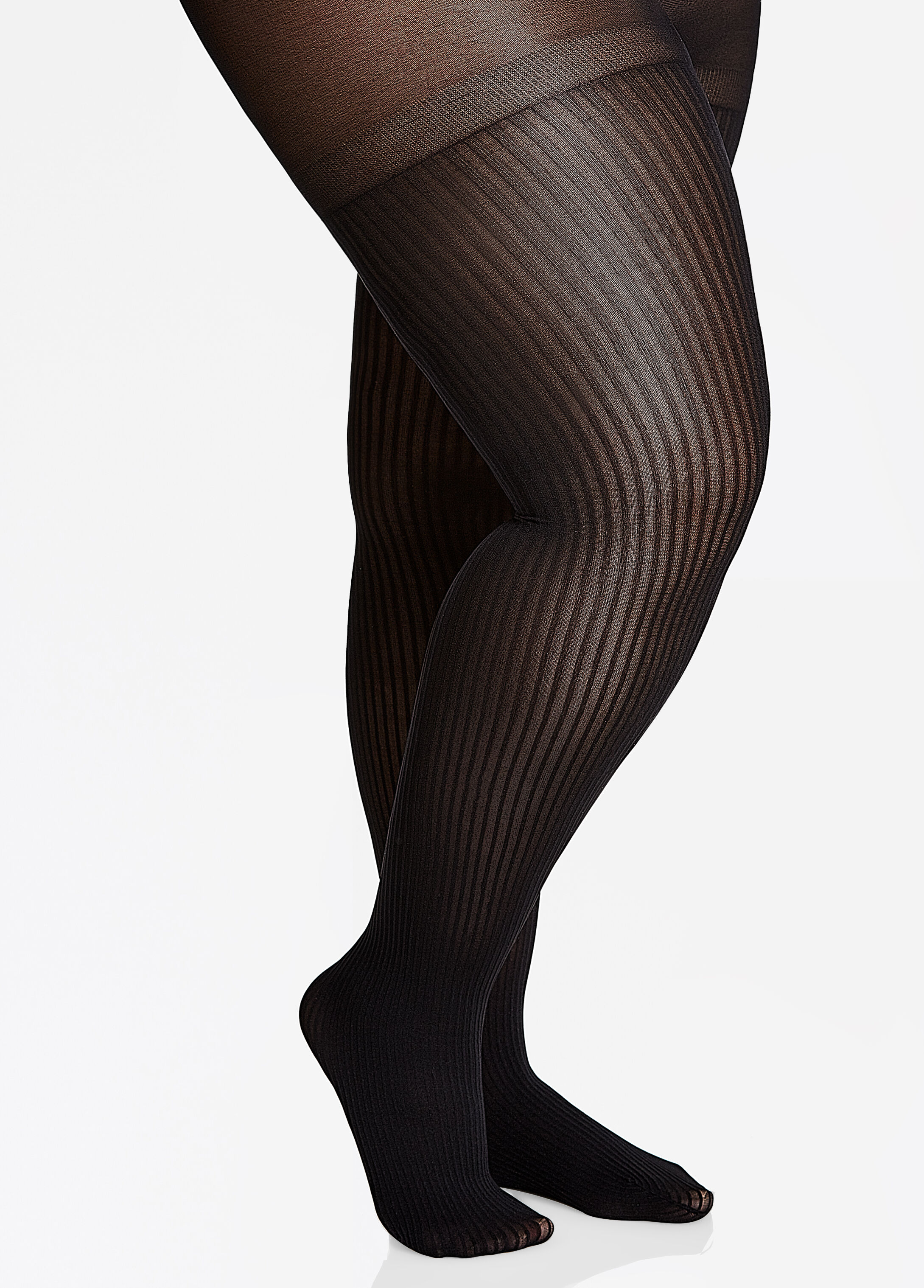 Ribbed Opaque Tights 402010098792