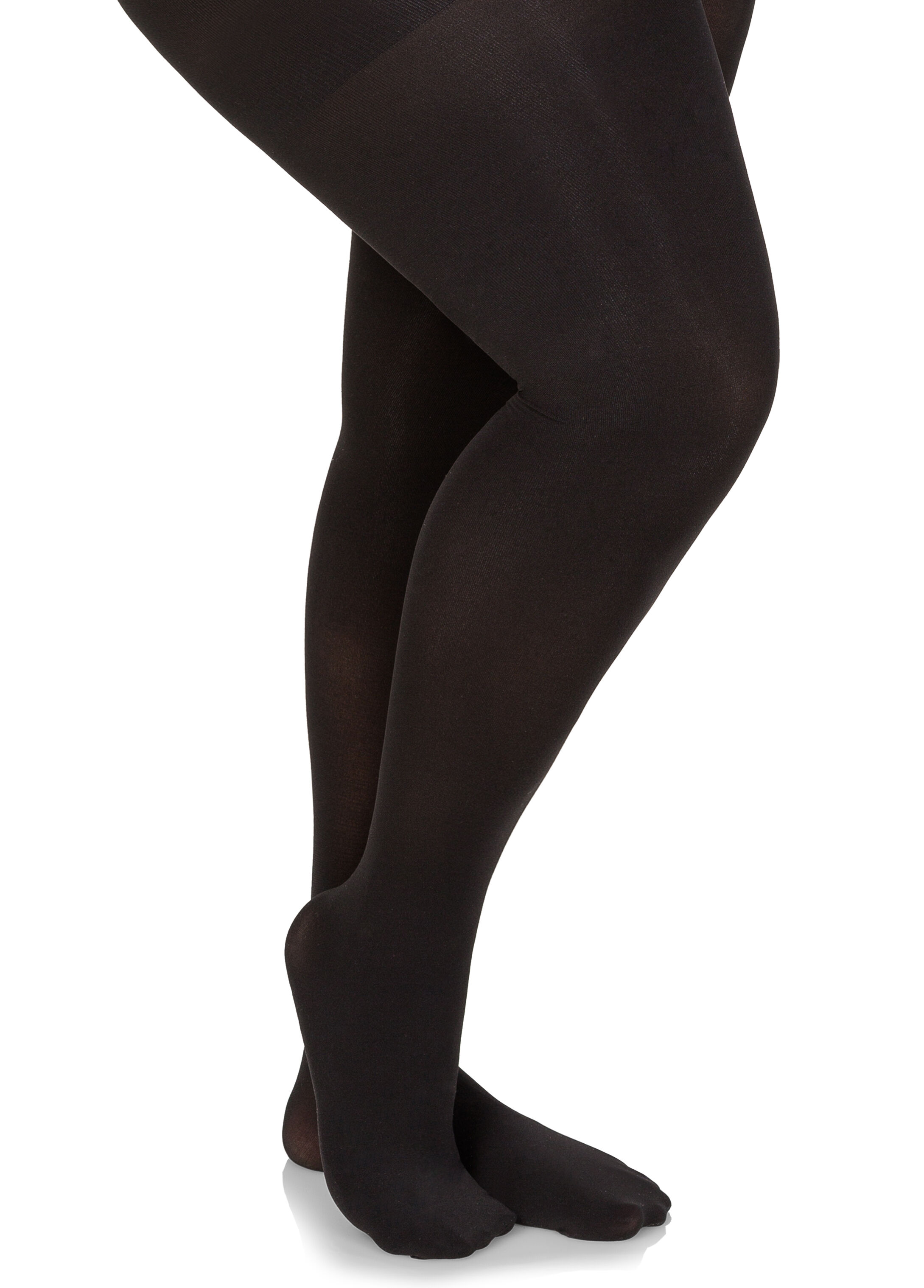 Footed Opaque Tights