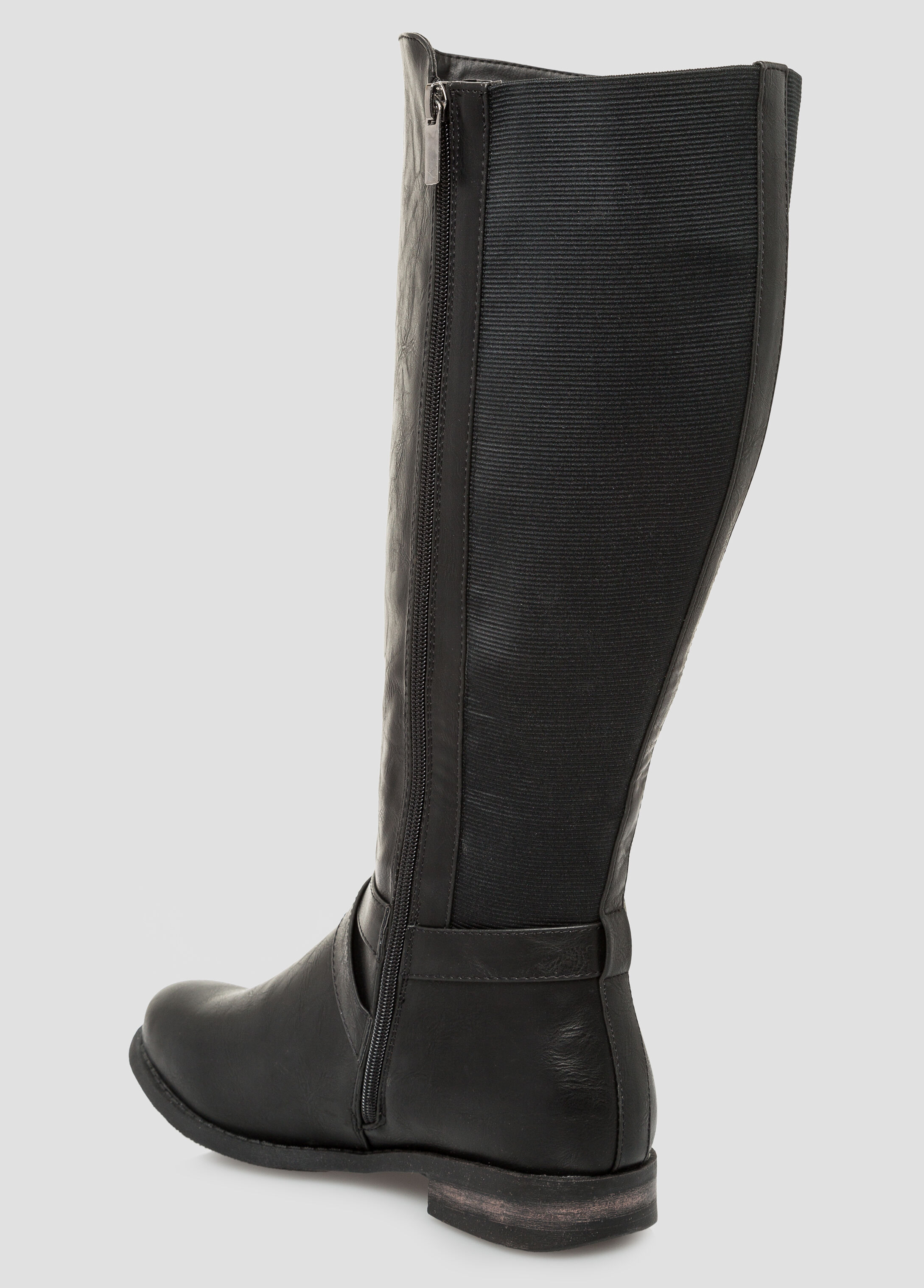 Stud Ankle Tall Boot - Extra Wide Width, Extra Wide Calf