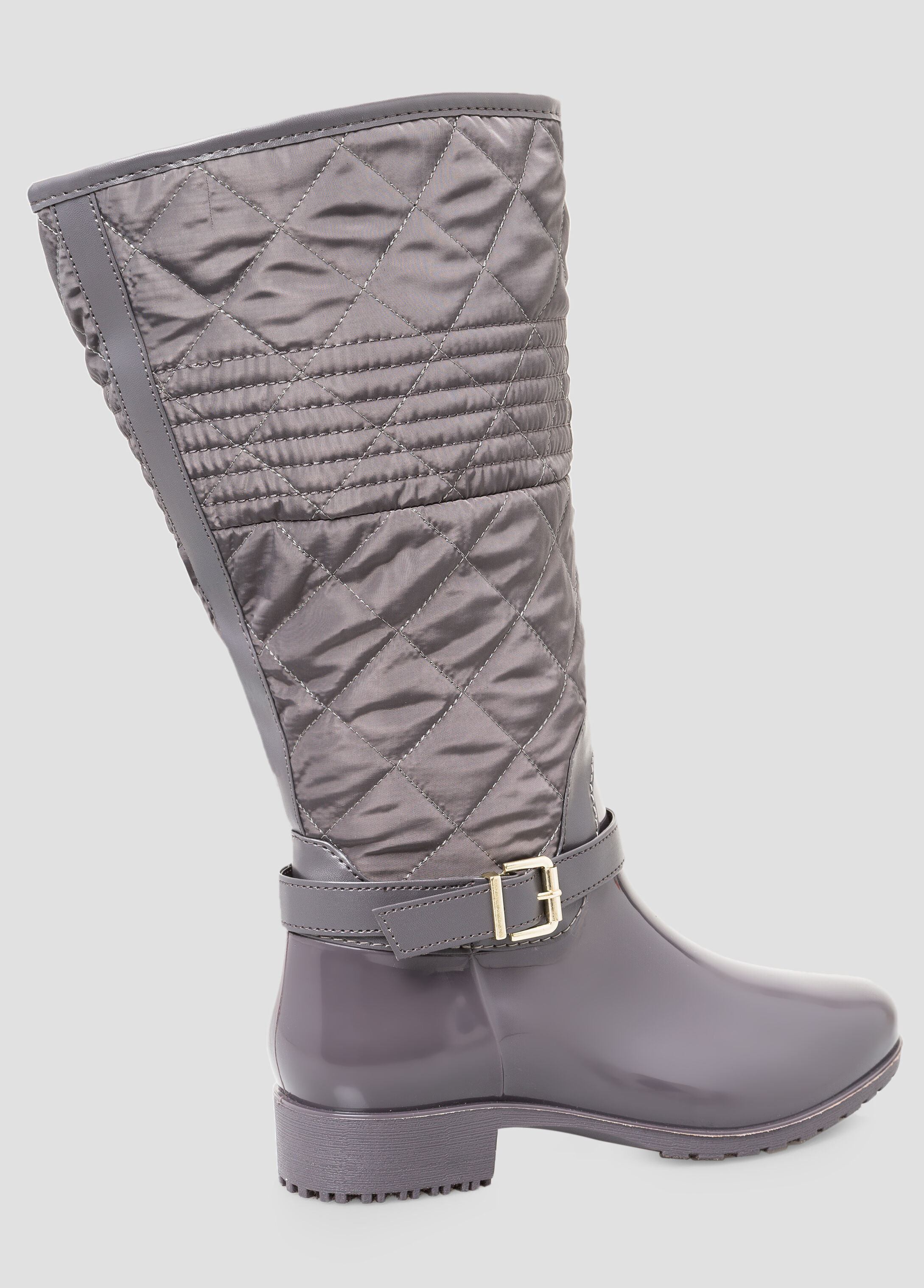 Quilted Snow Boot - Wide Calf, Wide Width