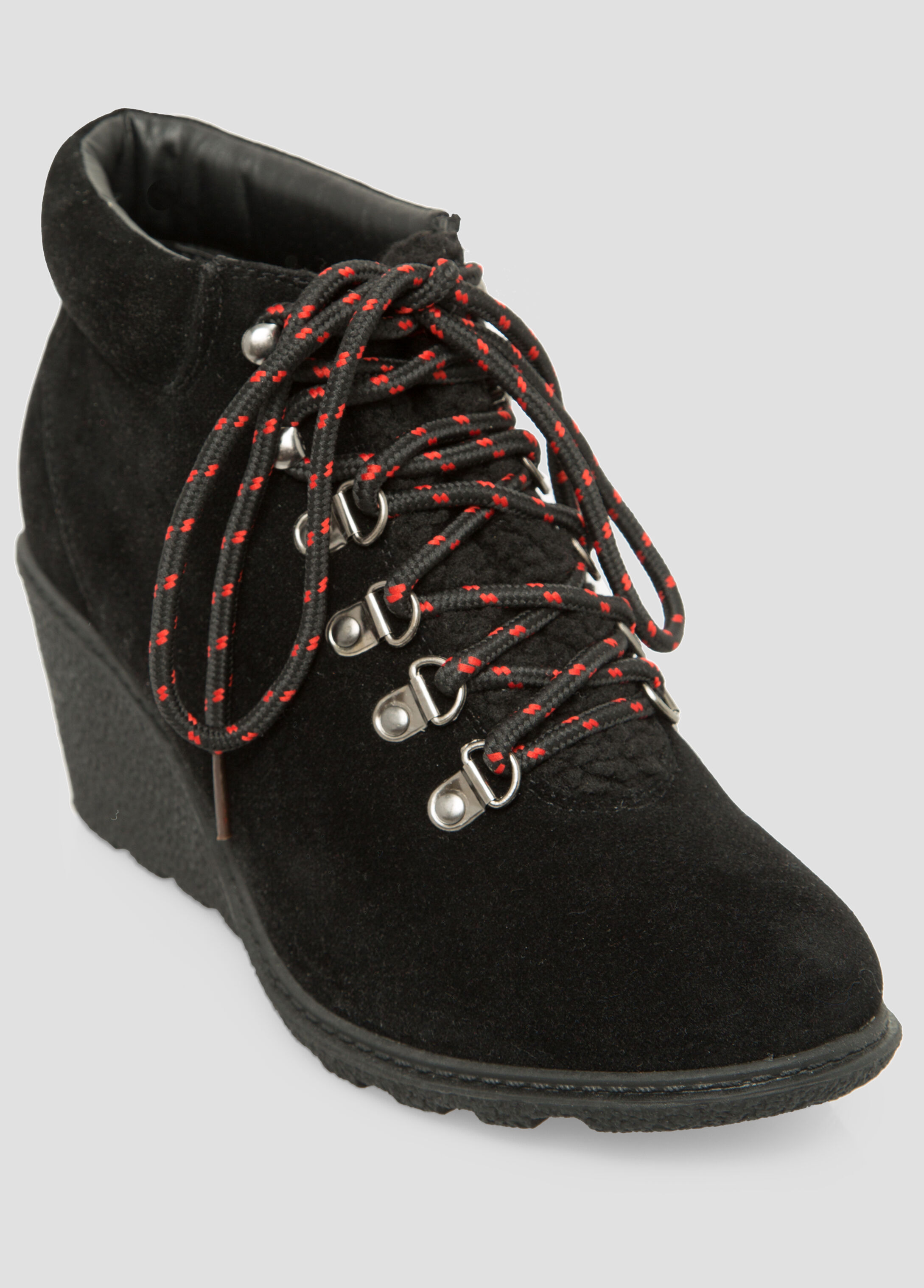 Hiking Lace-Up Wedge - Wide Width