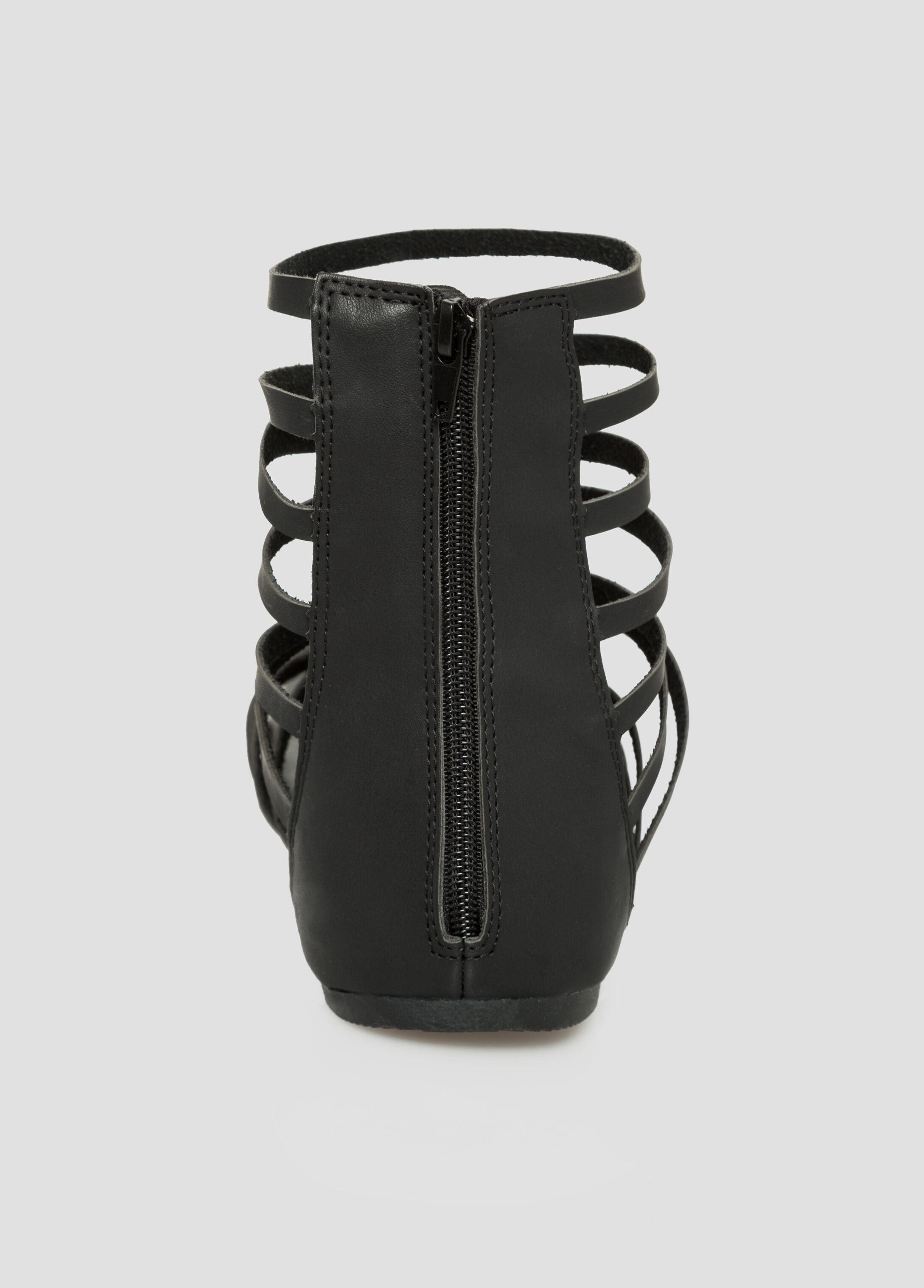 Short Gladiator Sandal - Wide Width