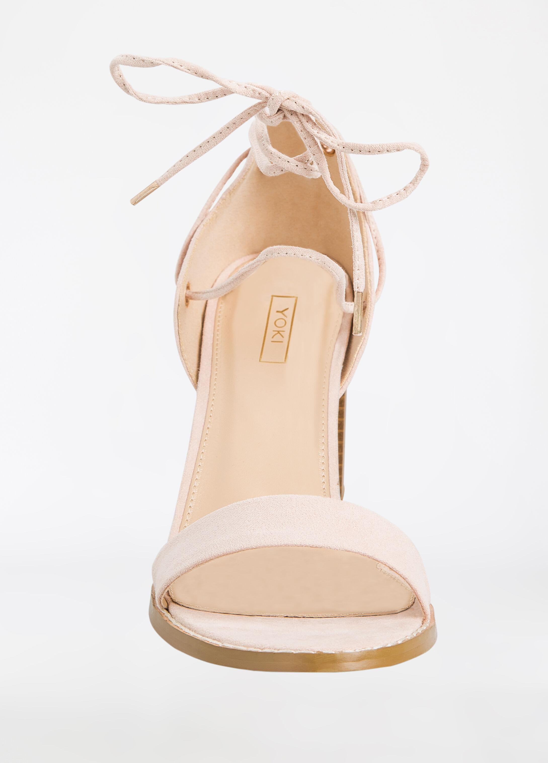 Block Heel Sandal - Medium Width