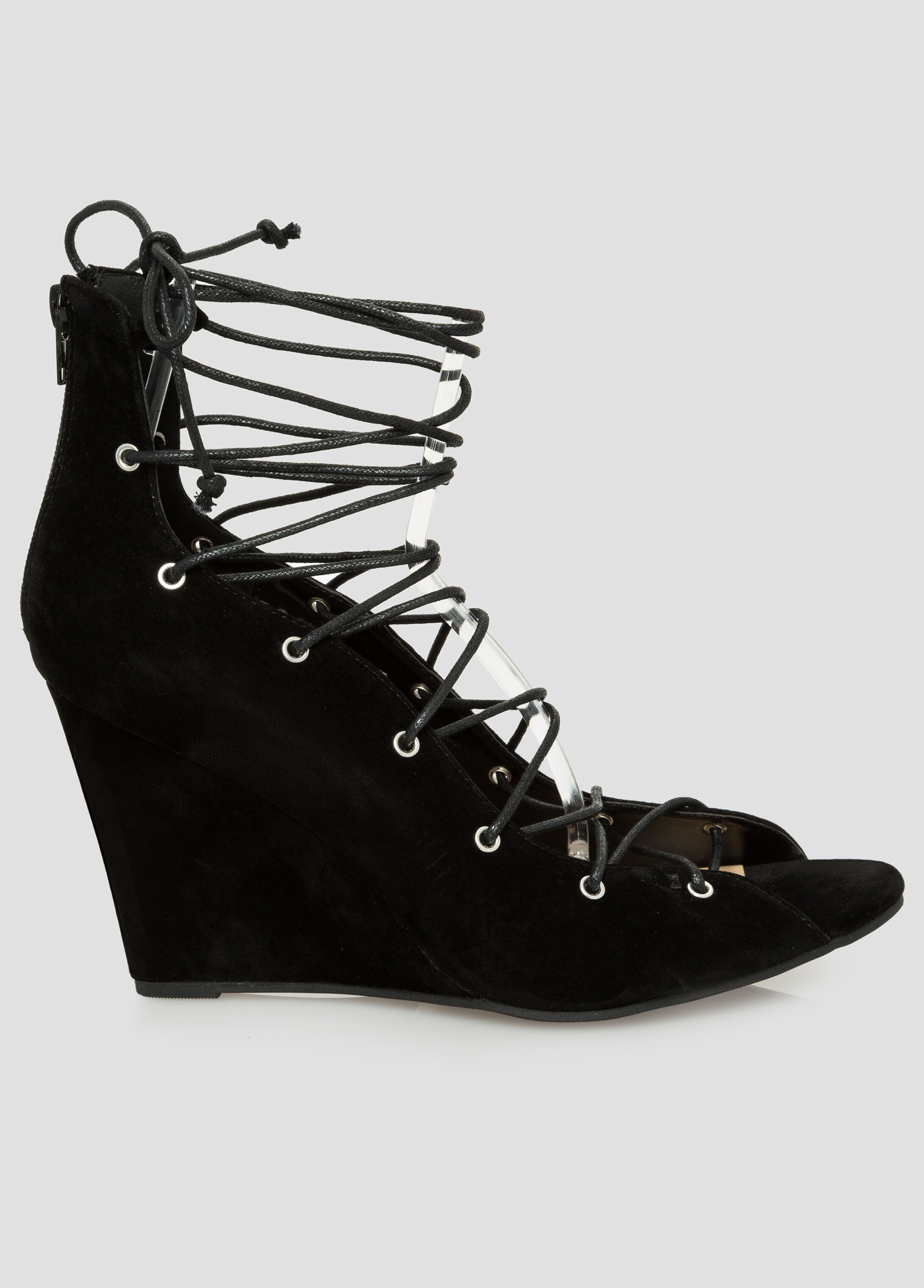 Lace-Up Wedge - Wide Width
