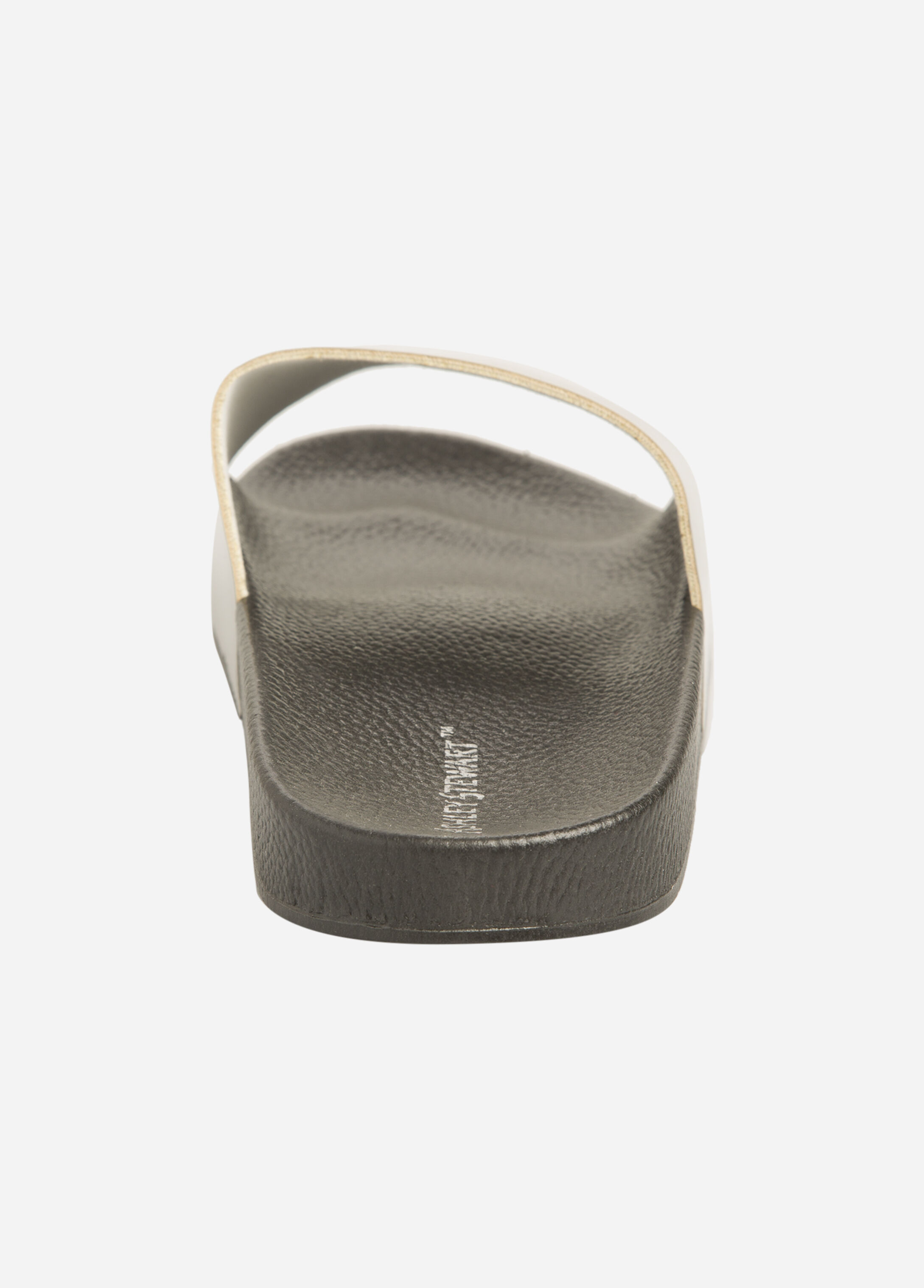 Metallic Slide Sandal - Wide Width