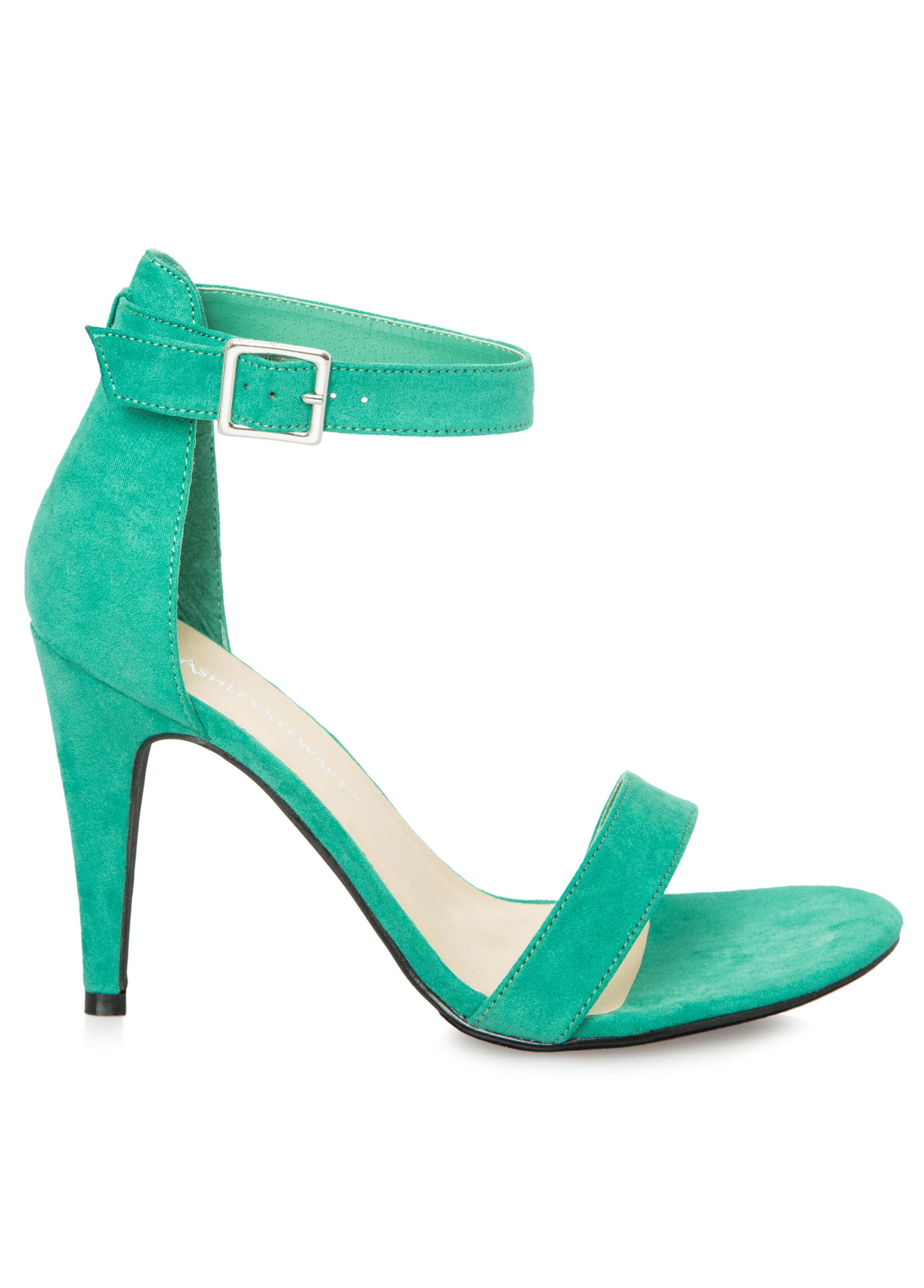 Micro Suede Dress Sandal - Wide Width
