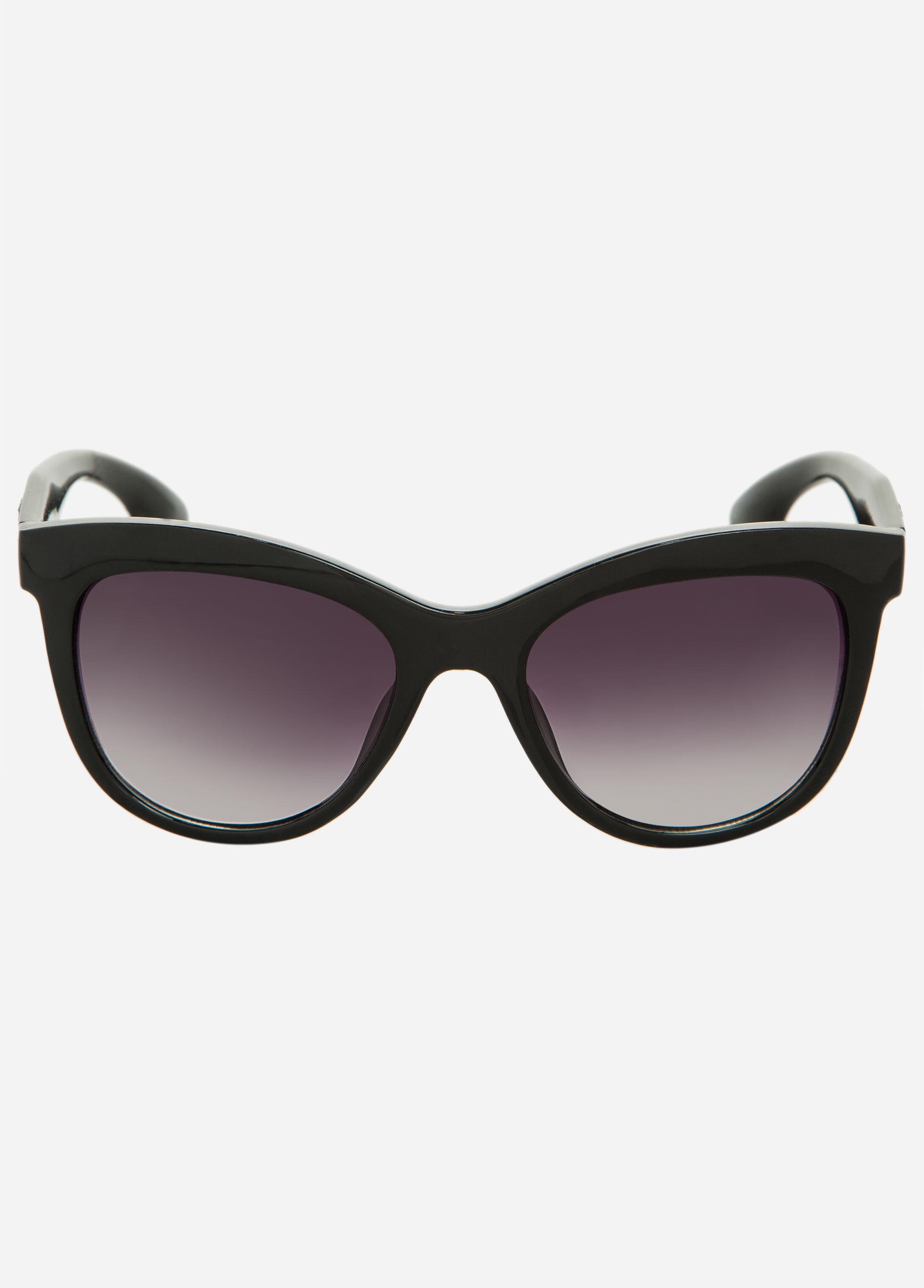 Sequin Temple Clubmaster Sunglasses