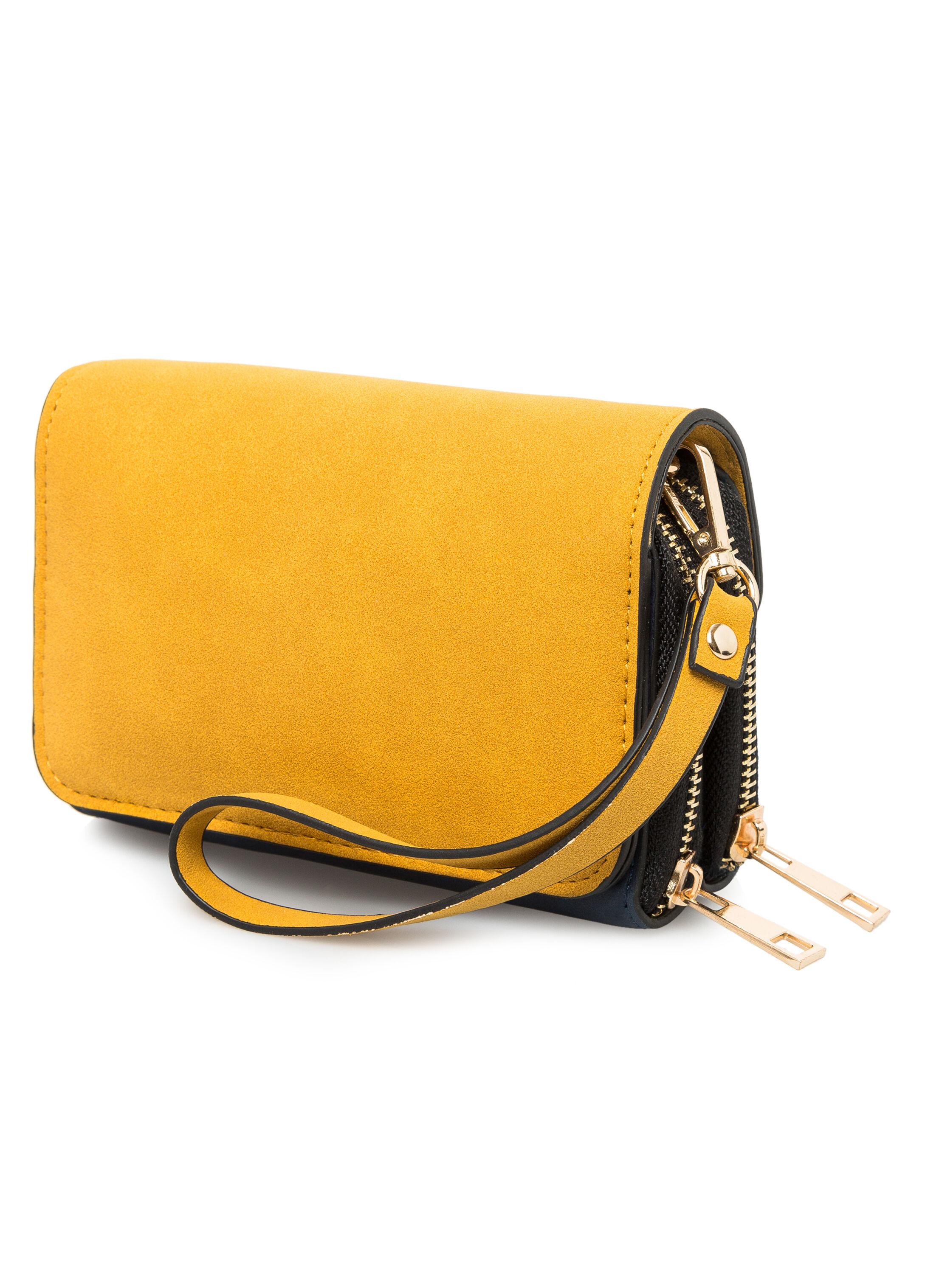 Oversized Wristlet Wallet Bag