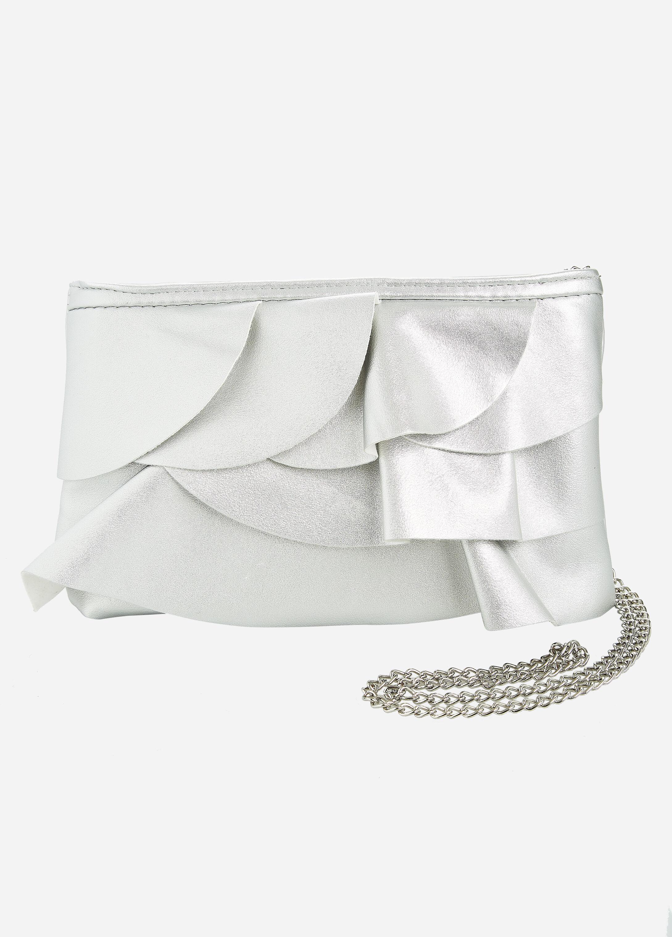 Multi-Tier Ruffle Shoulder Bag
