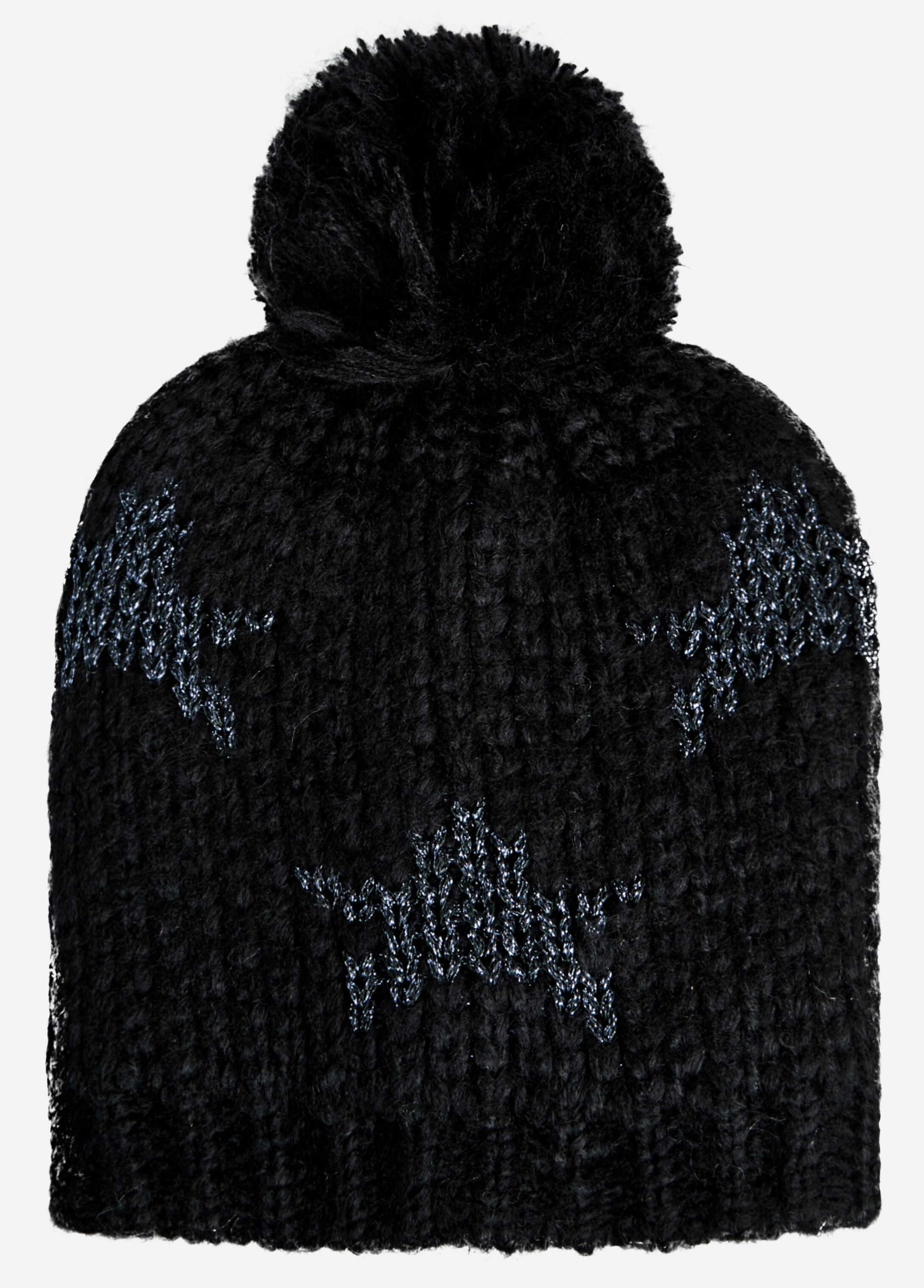Star Pom Knit Hat