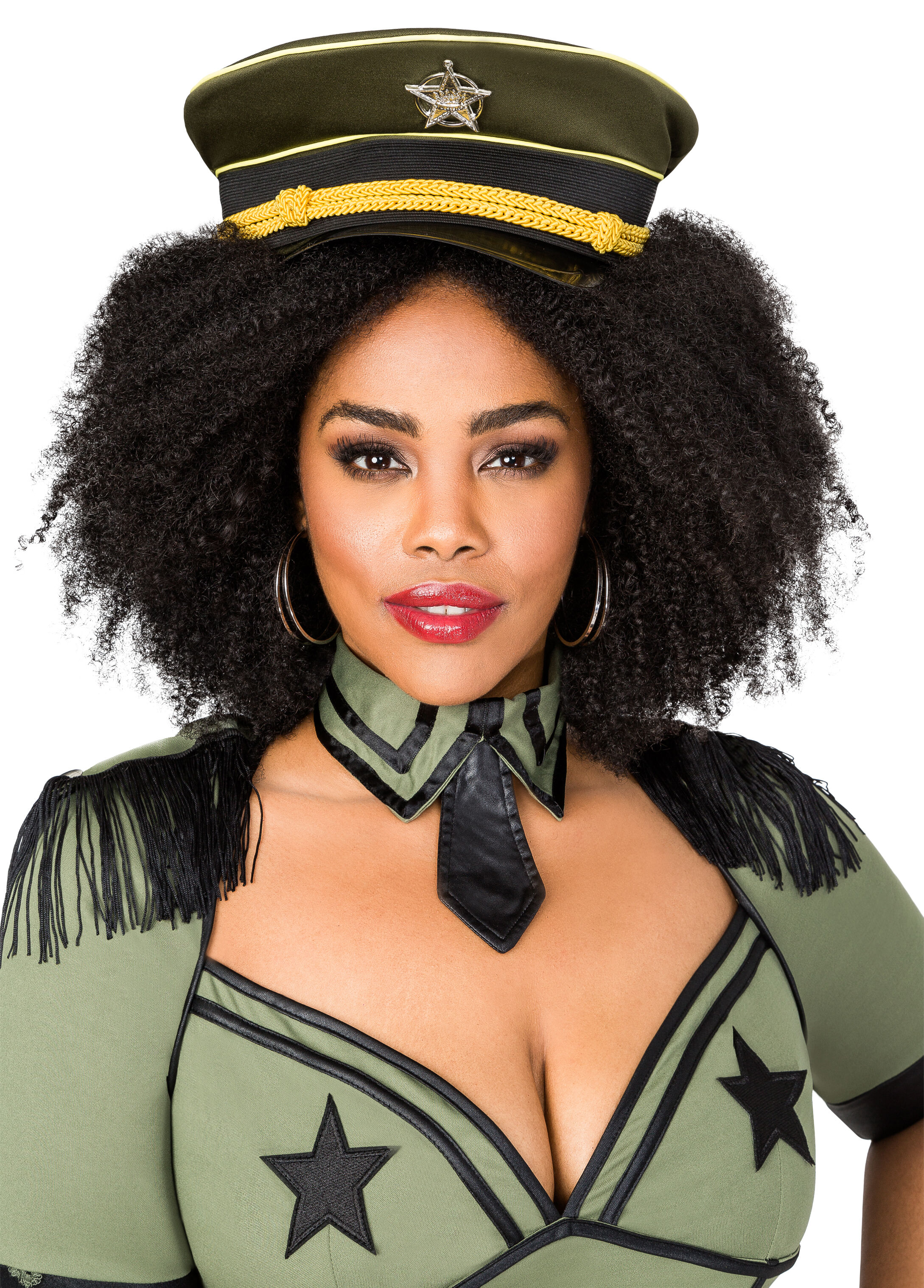 Sexy Army Brat Plus Size Costume