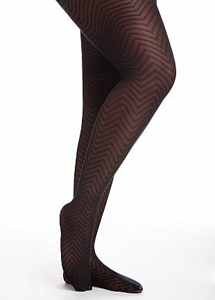 Basic Rib Knit Pantyhose