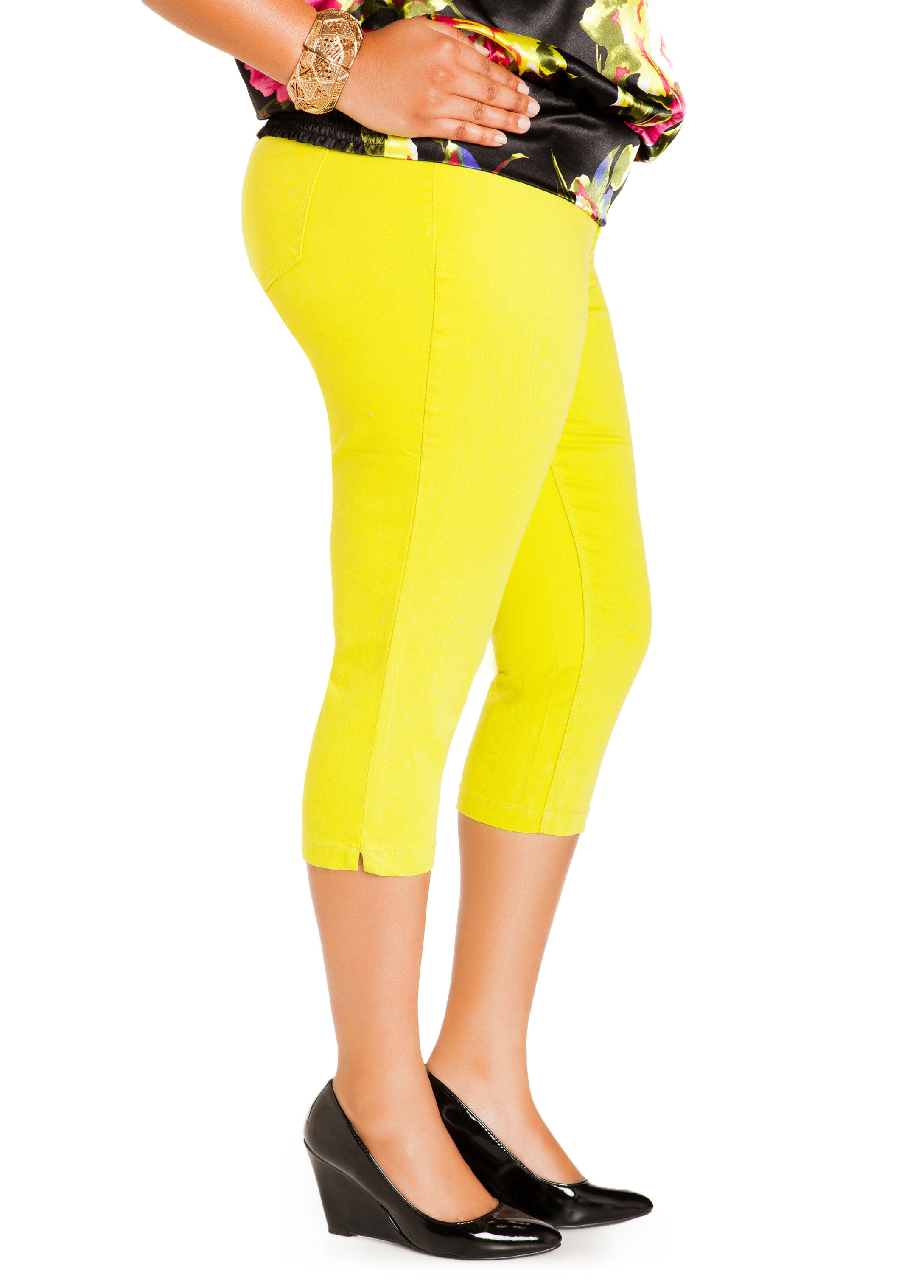 Mandalay Lime 21inch Capri