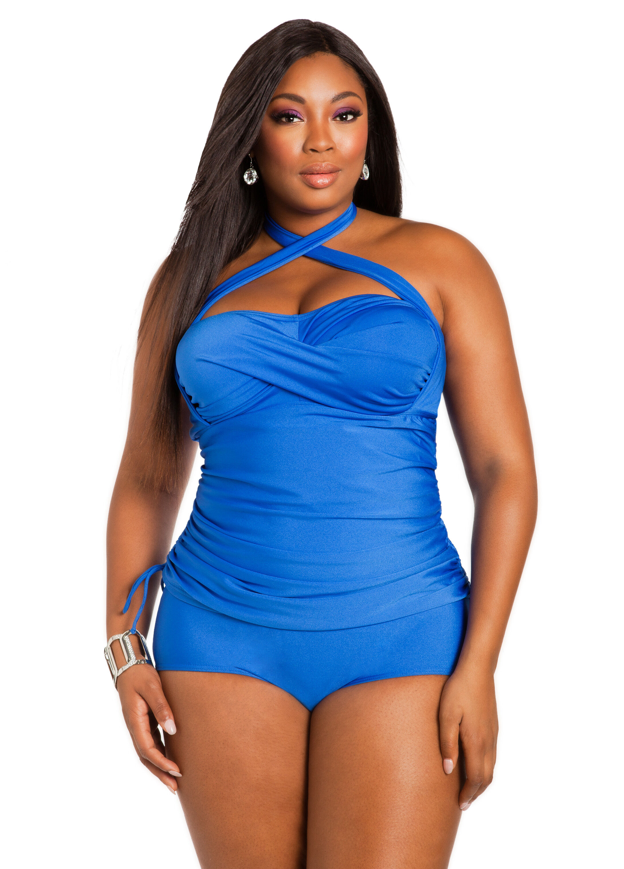 Convertible Tie Tankini Top